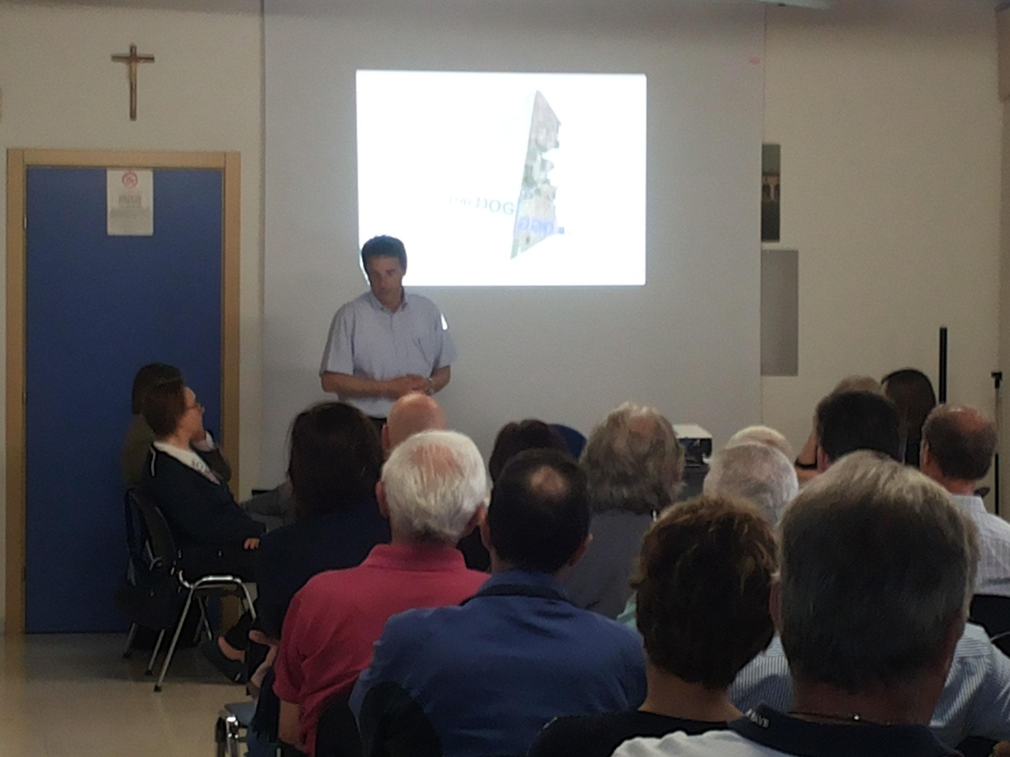 La presentazione dell'assessore Giancarlo Bianchini