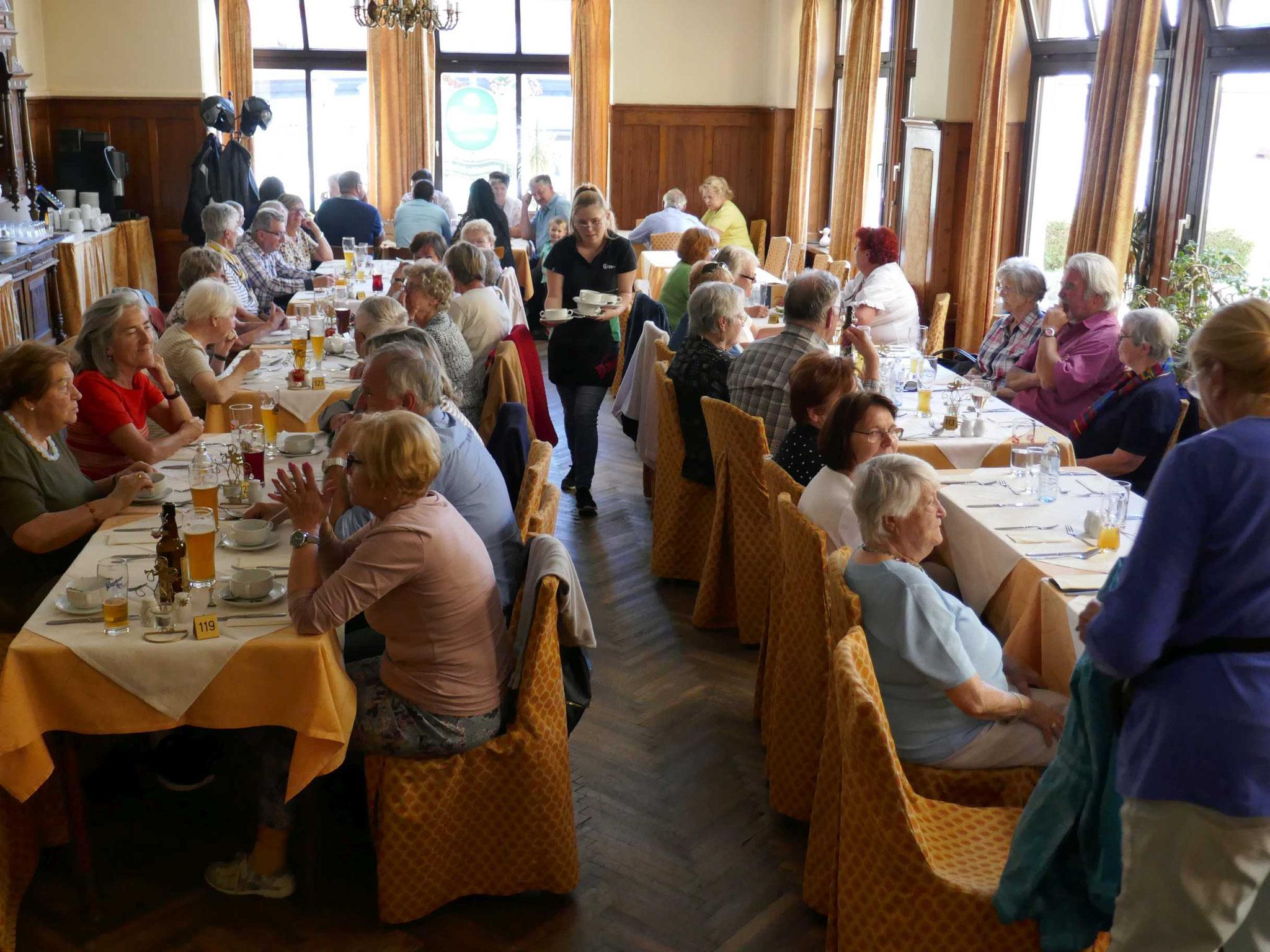 im Restaurant Himmelreich