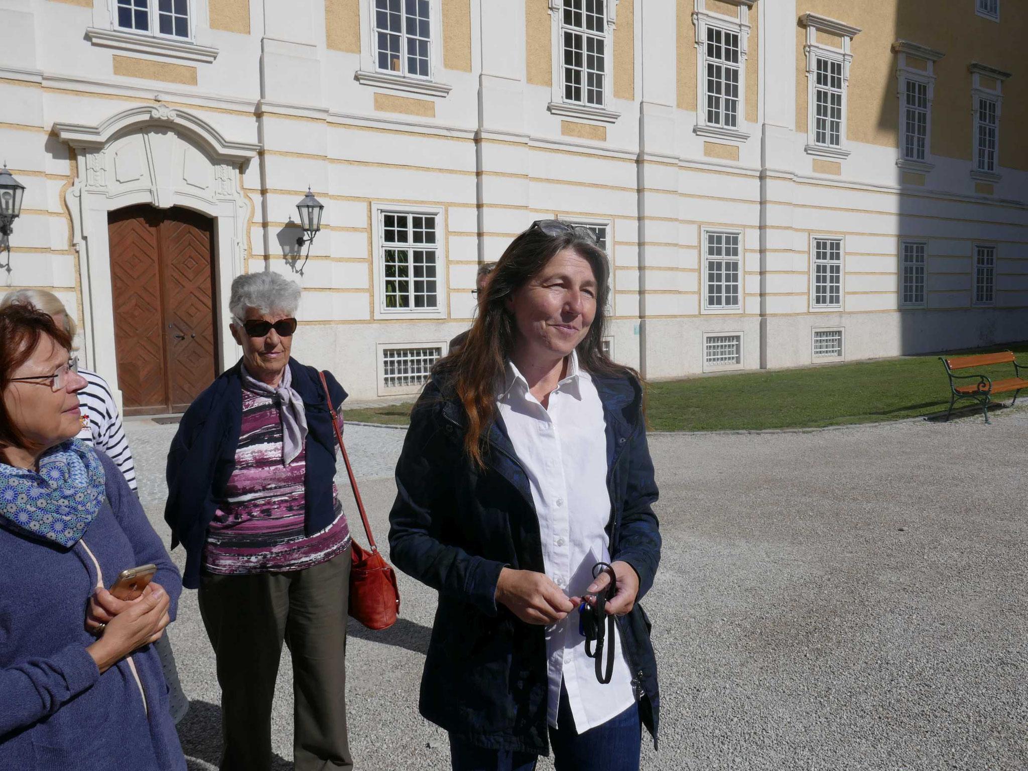 Stift Seitenstetten mit Elfriede Scholler