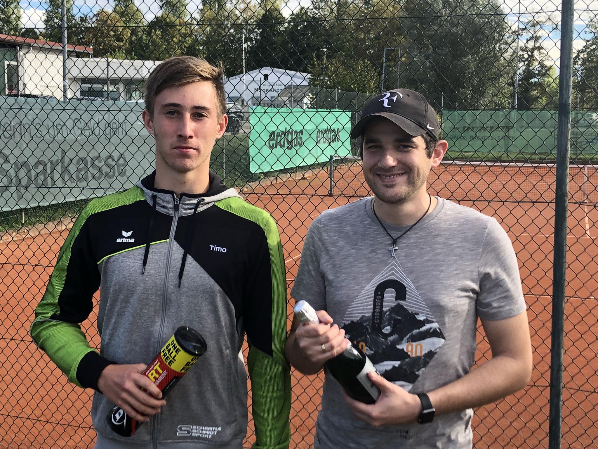 Herren NR - Sieger Timo Gerspach und Nico Ringgeler