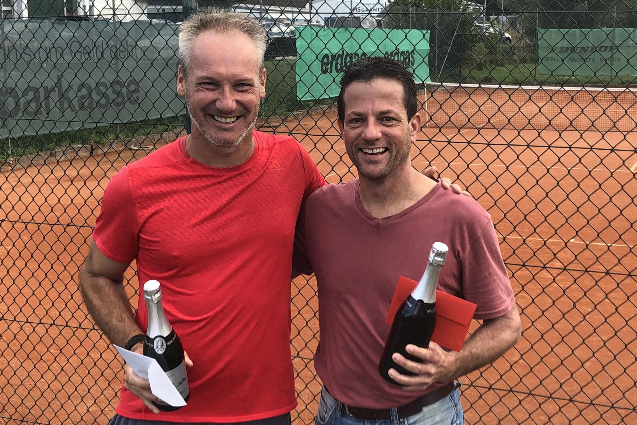 H40 - Patrick Albicker und Sieger Marc Grewing