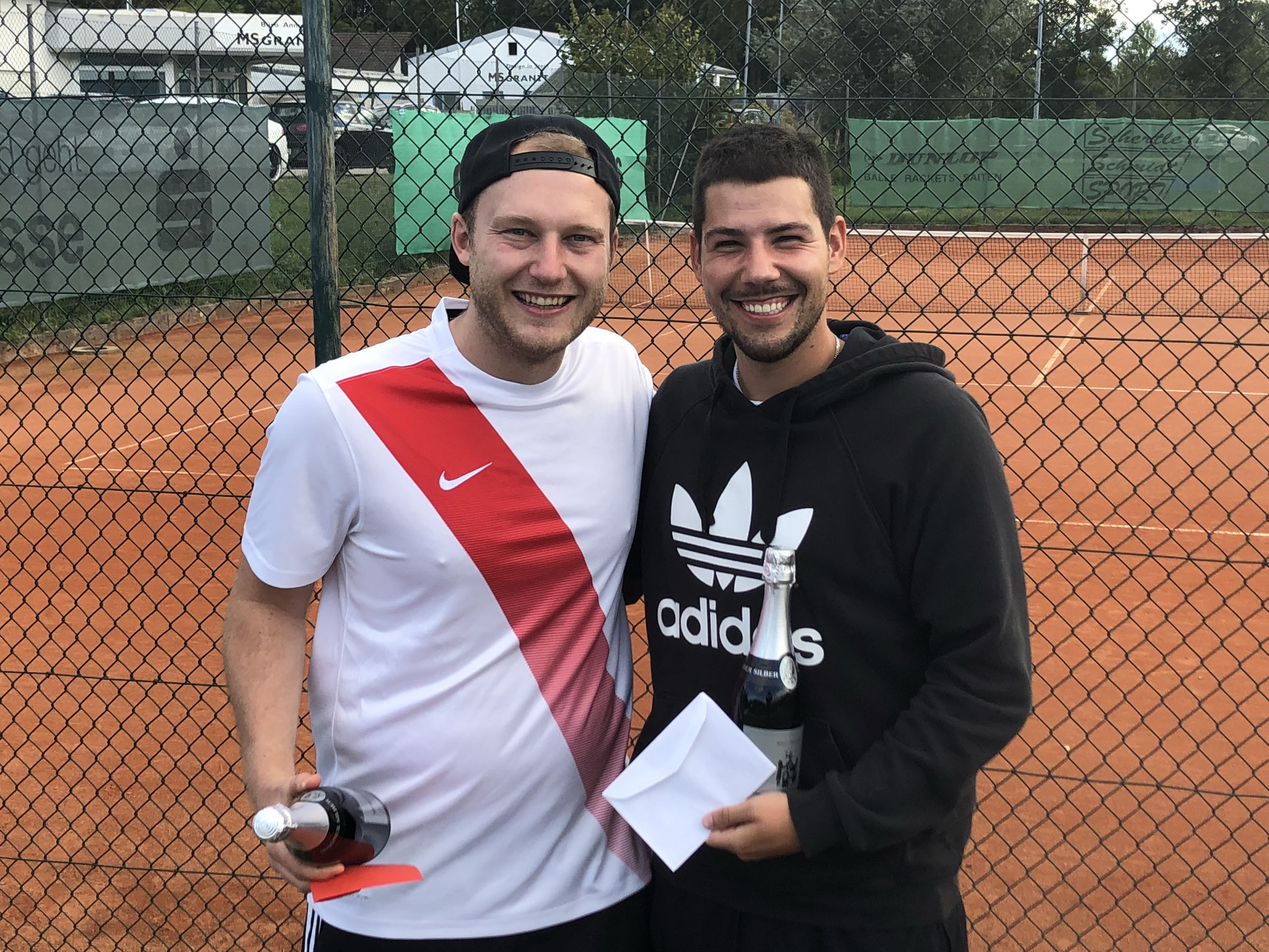 Herren - Sieger Tim Lafon und Julian Zeiß