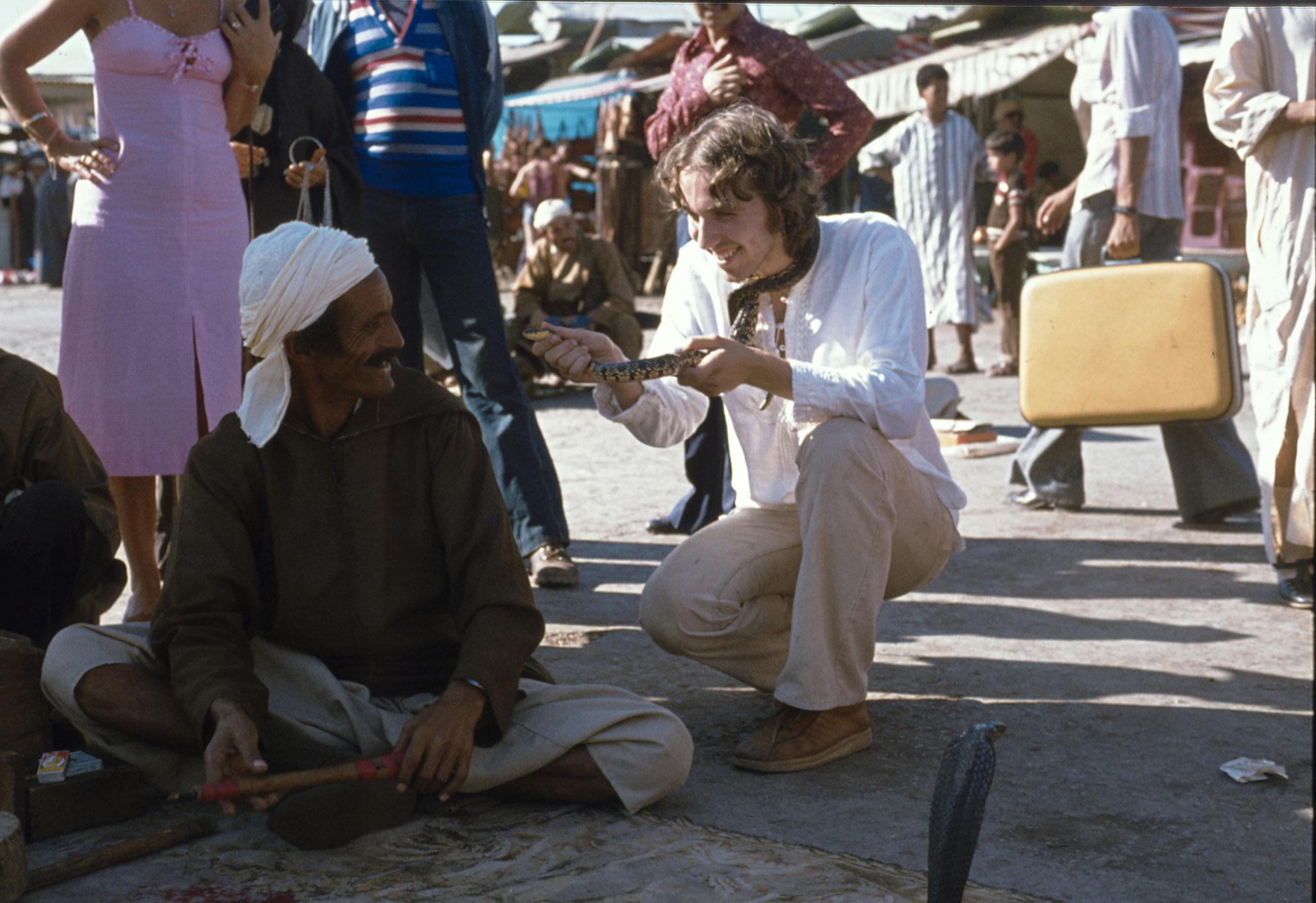 Marrakesch, Schlangenbeschwörer, Djemaa El Fna
