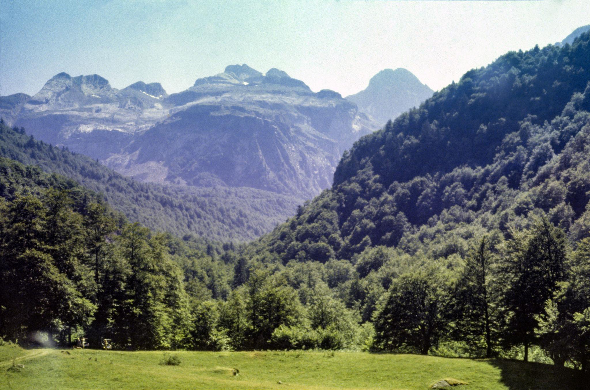 Pyrenäen, französische Seite