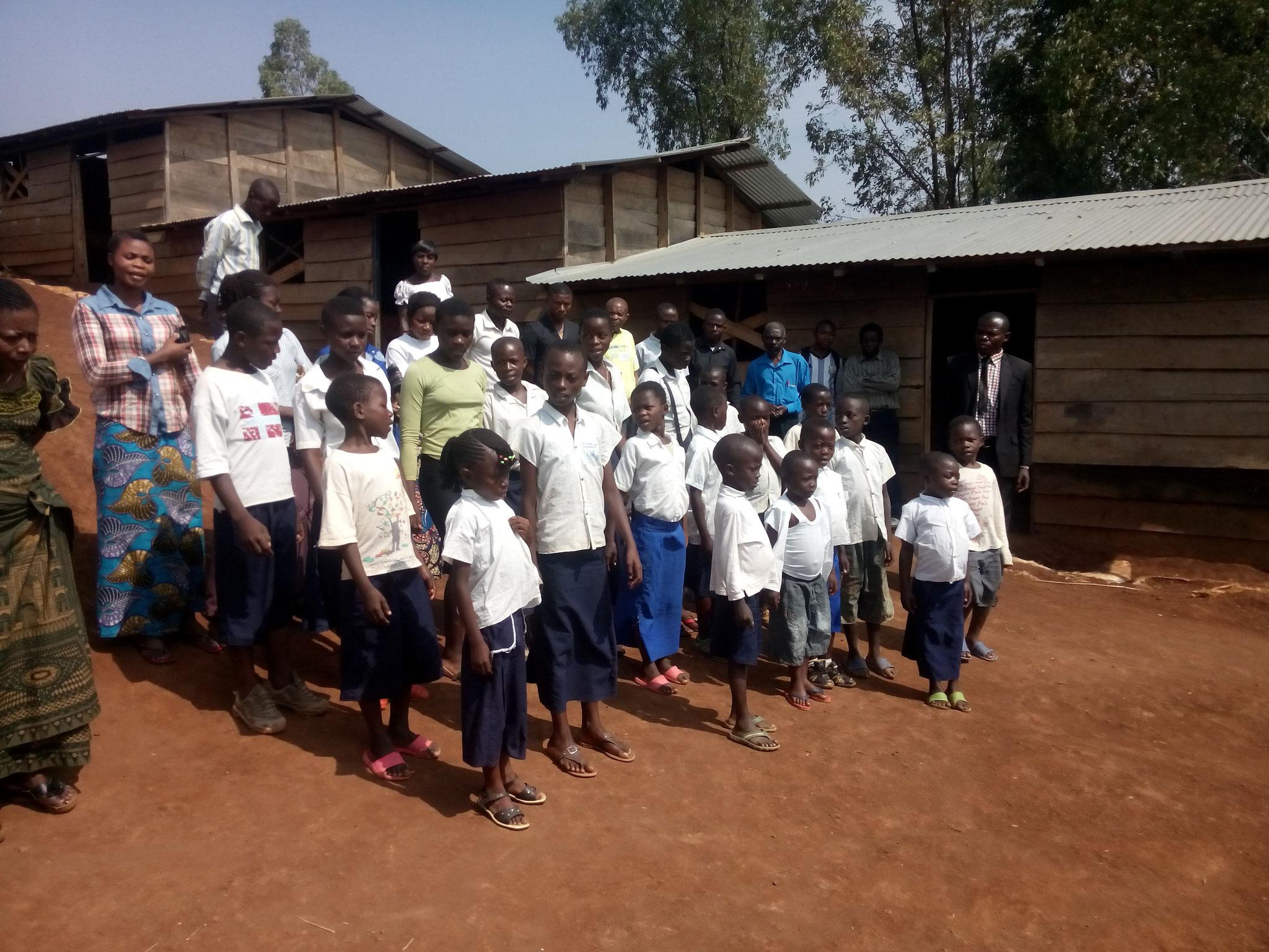 In dieser Schule in Mufuma werden Waisenkinder unterrichtet