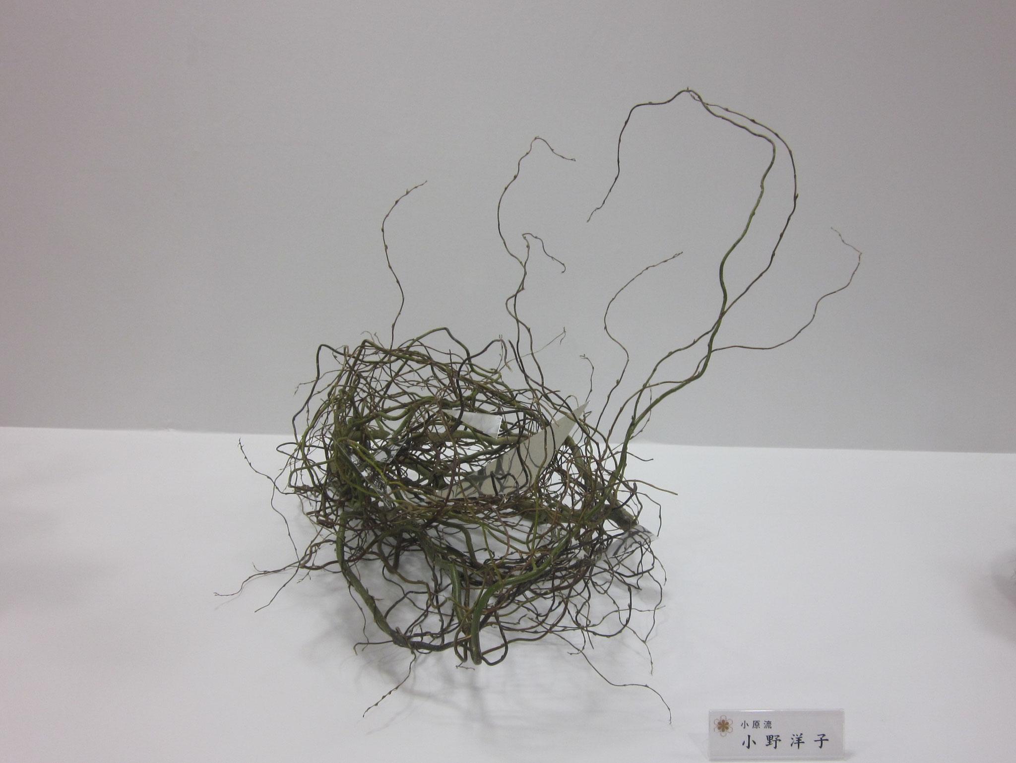 2014.9.23 全道いけ花美術展への出品作品