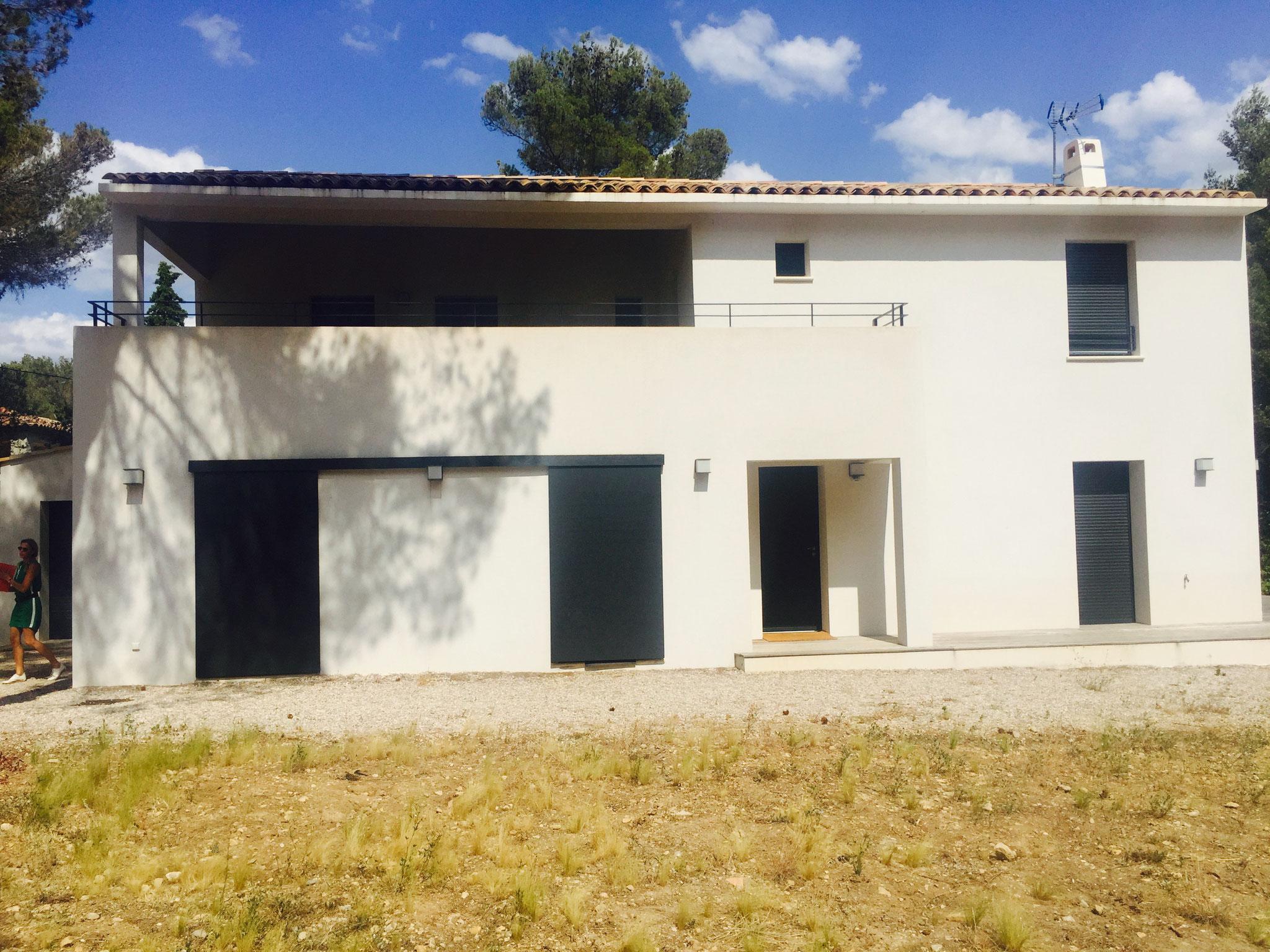 repeindre facade maison peindre une facade with repeindre facade maison great repeindre sa. Black Bedroom Furniture Sets. Home Design Ideas
