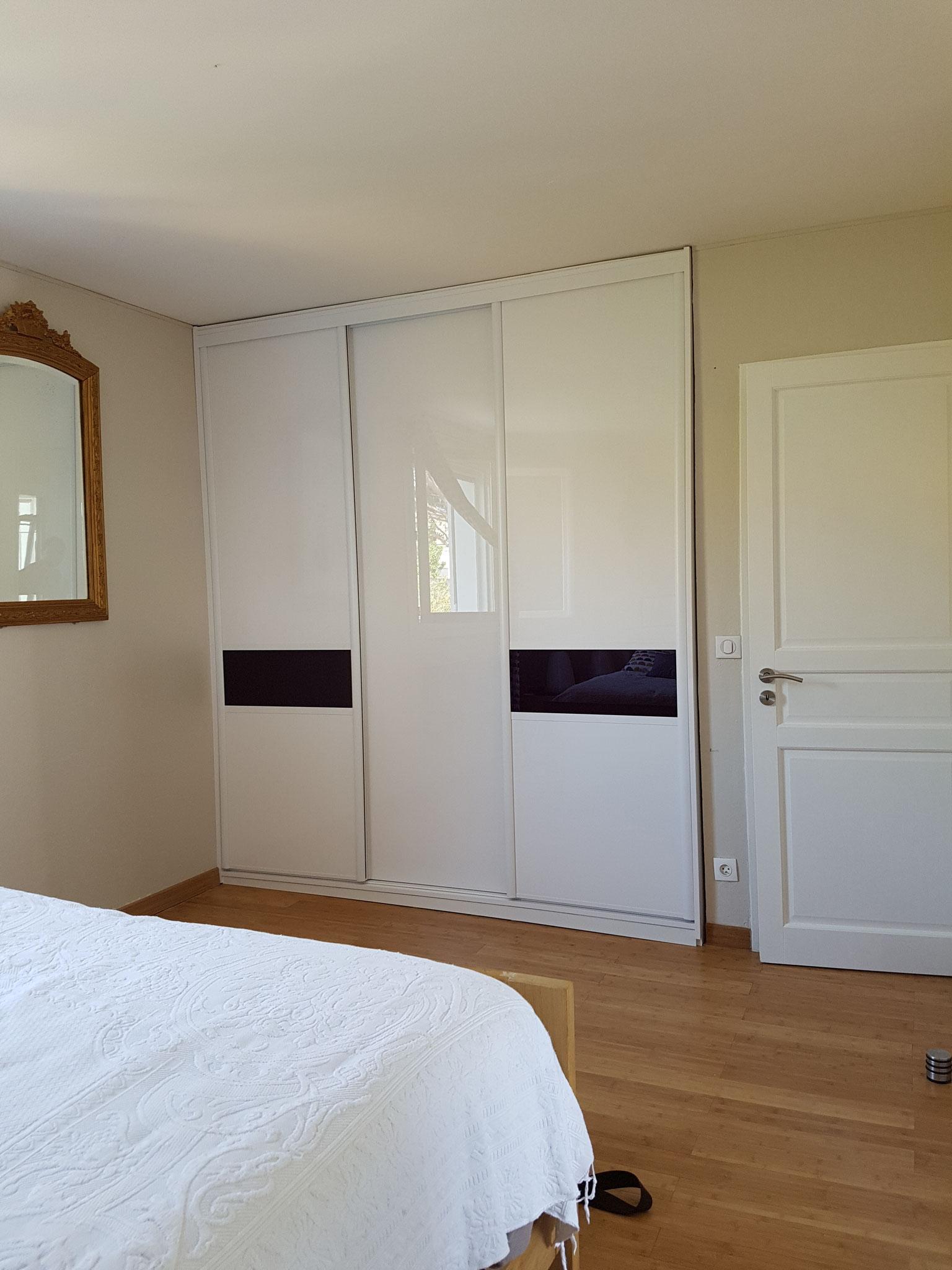 portes bicolore dressing