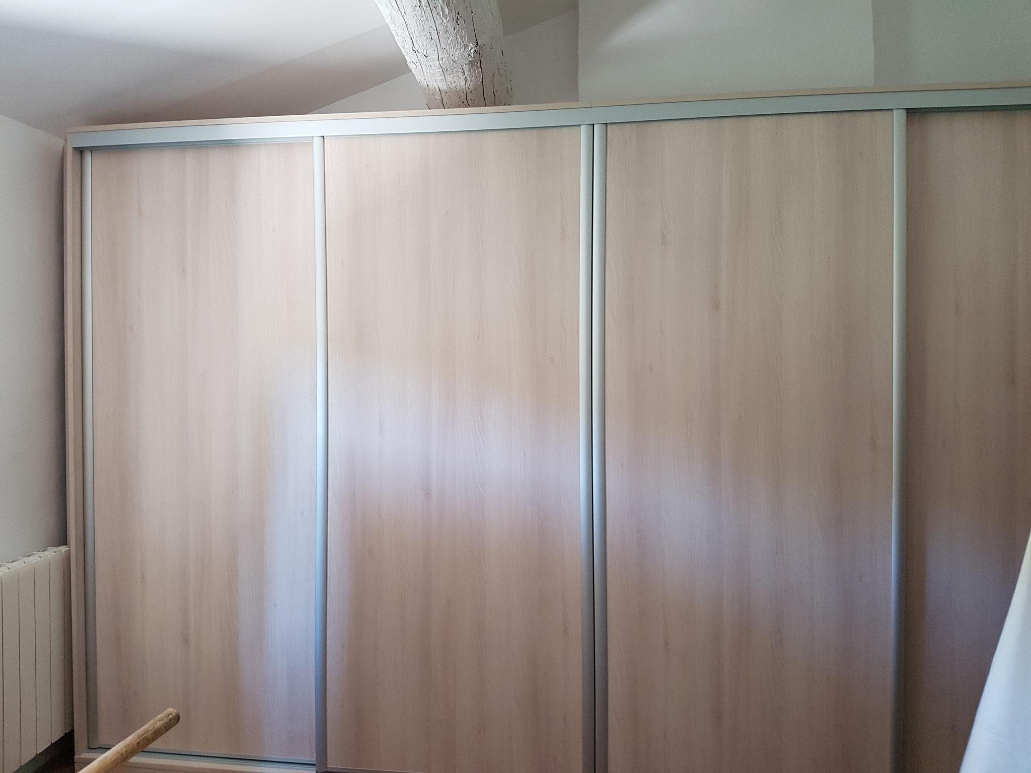 porte bois clair