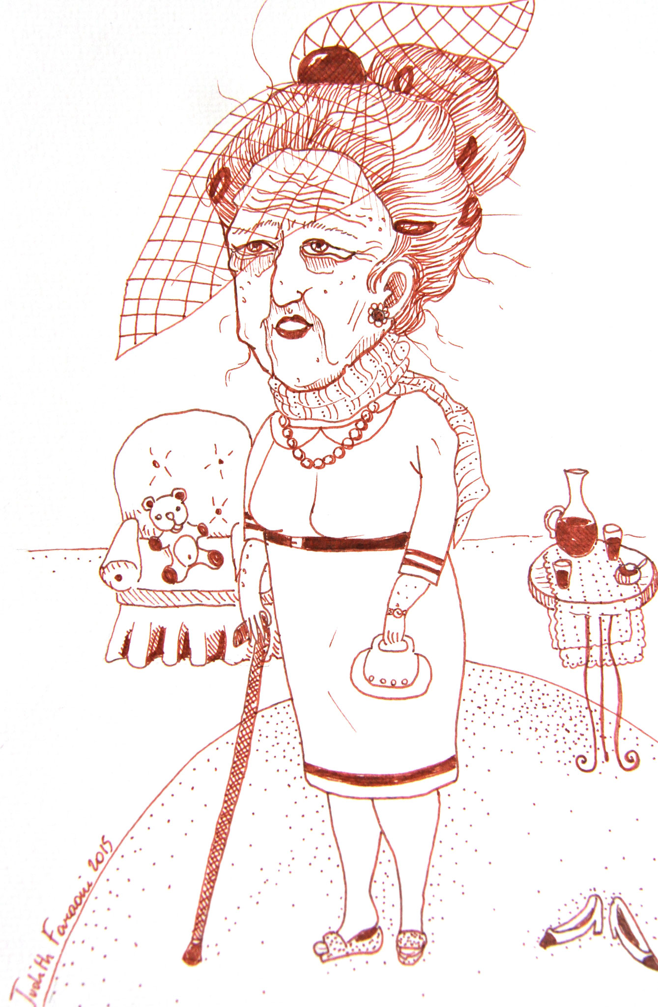 'Madame s'apprête'