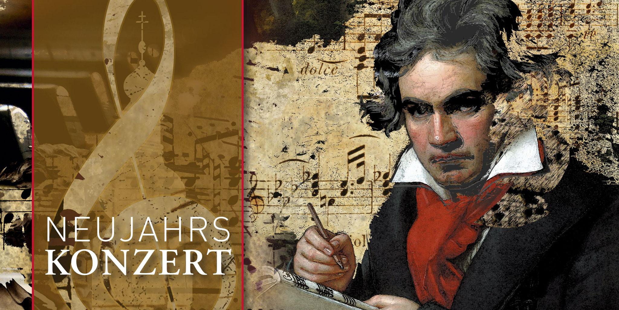 01. Januar 2020 | NeujahrsKonzert | Ludwig van Beethoven