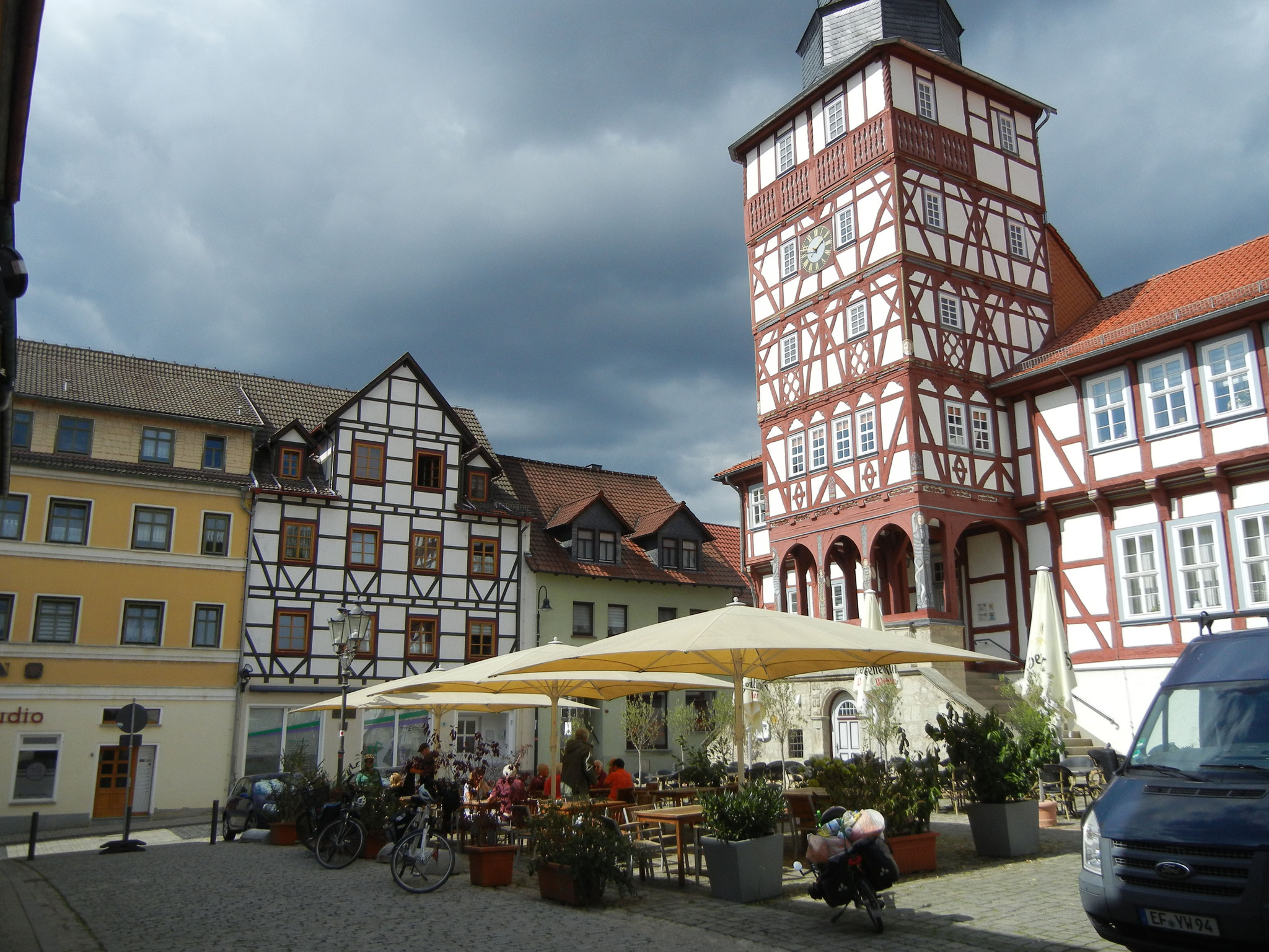 Markt in Treffurt