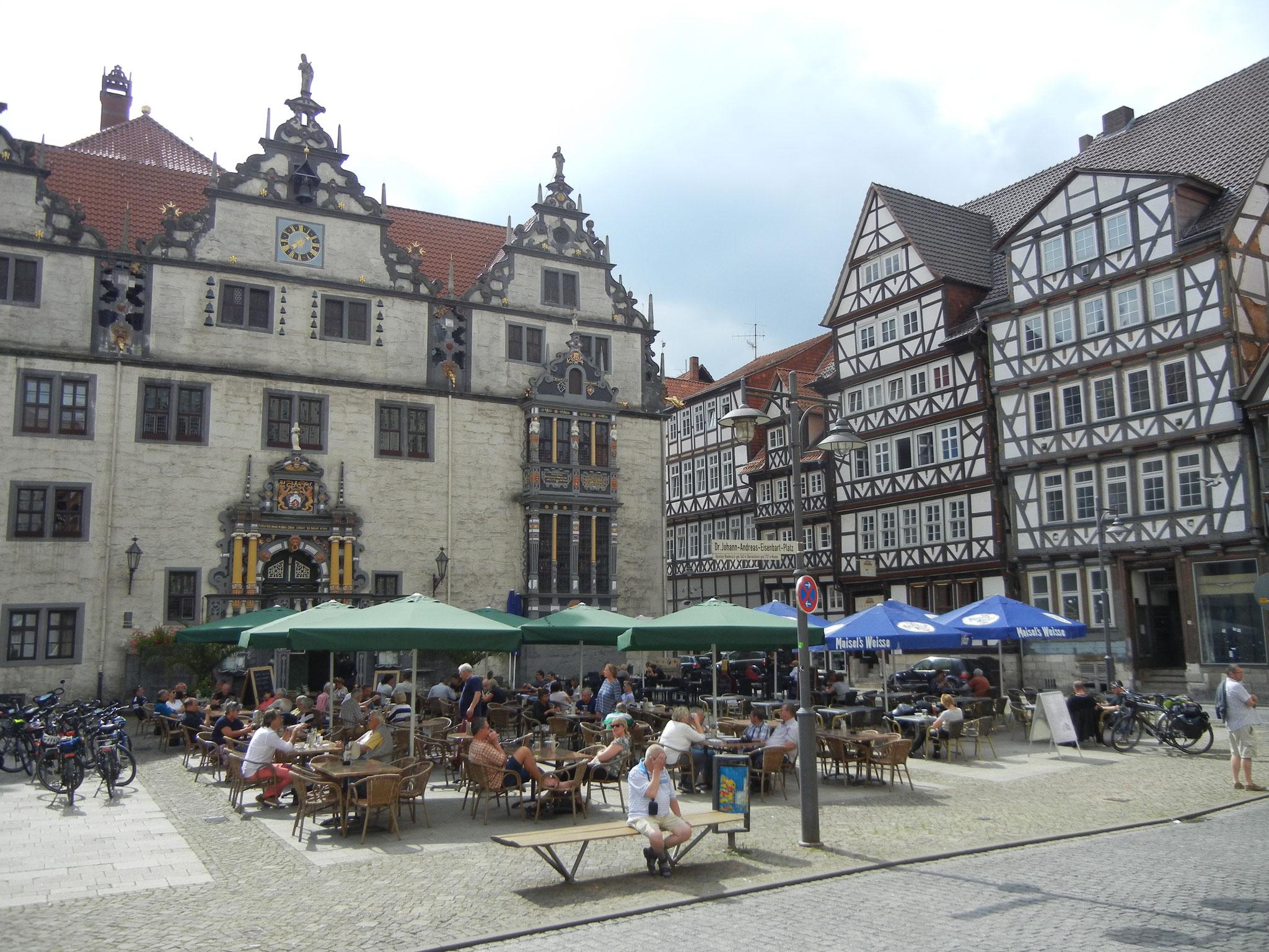 Das Zentrum von Hann. Münden.