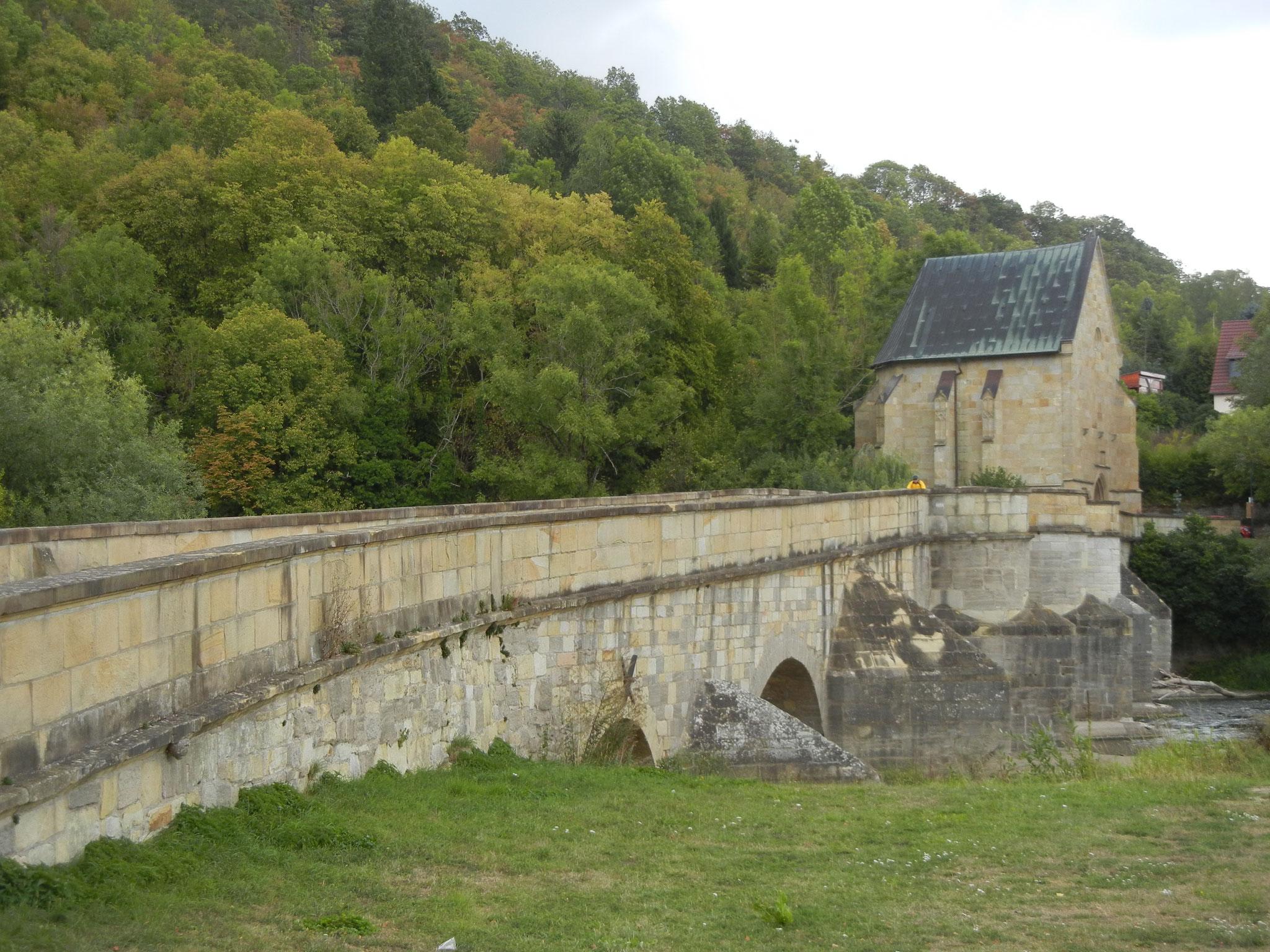 Werrabrücke in Creuzburg aus dem Jahr 1223