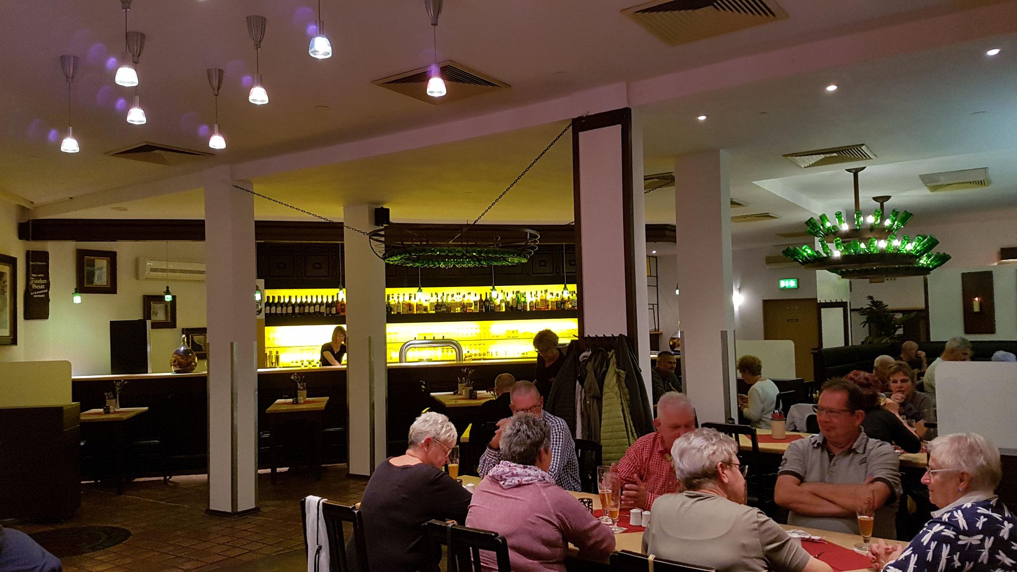 Blick in das Restaurant.