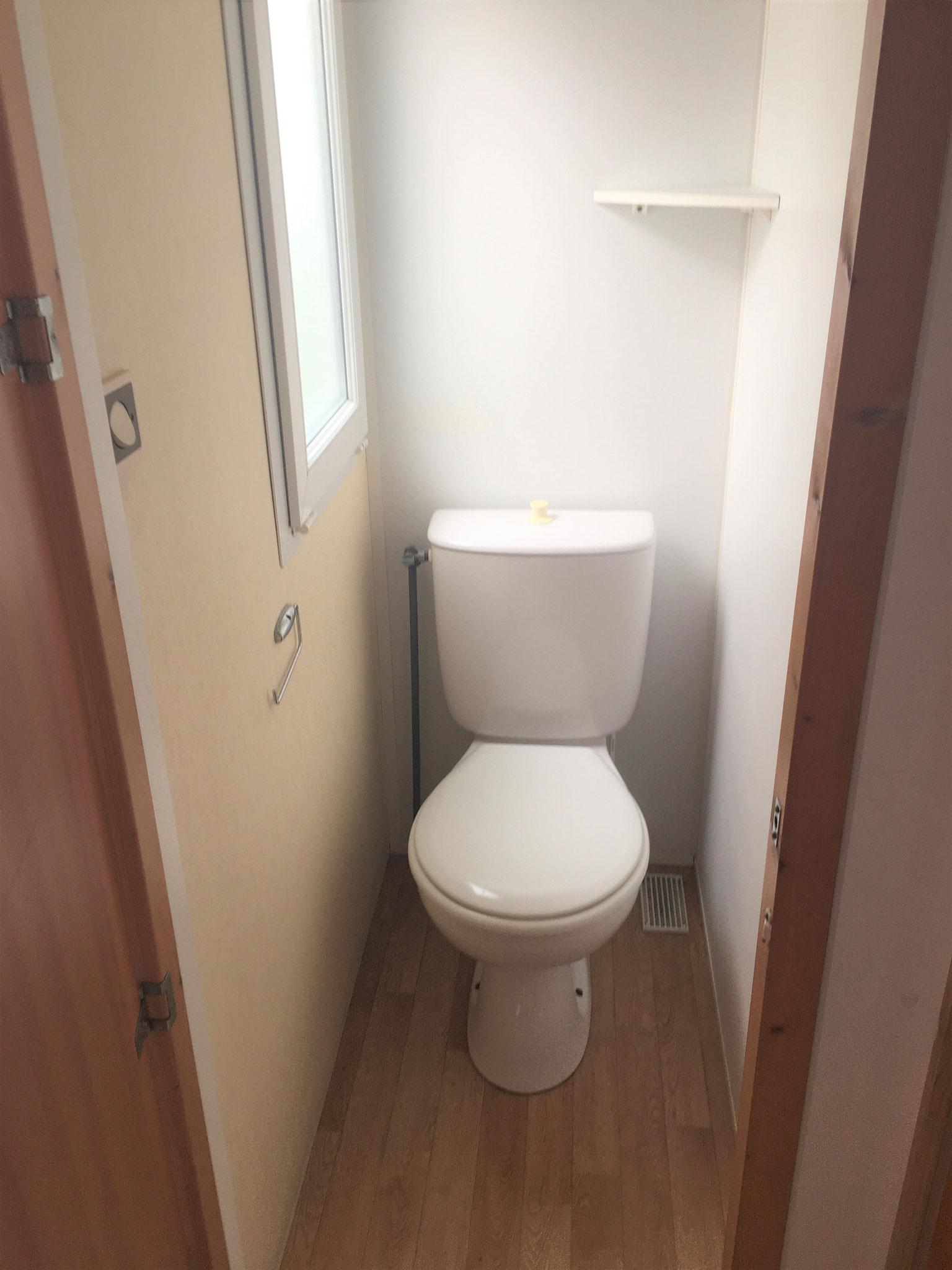 WC indépendant mobil home vegas
