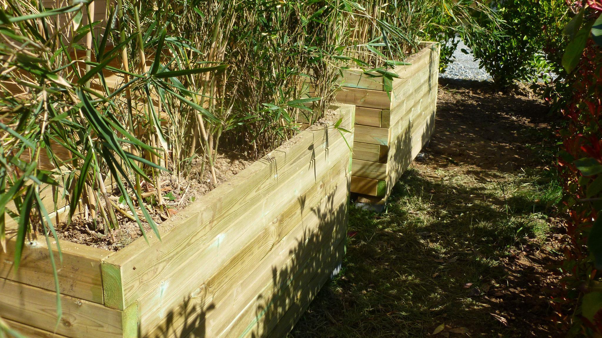 Mobilier de jardin sur mesure