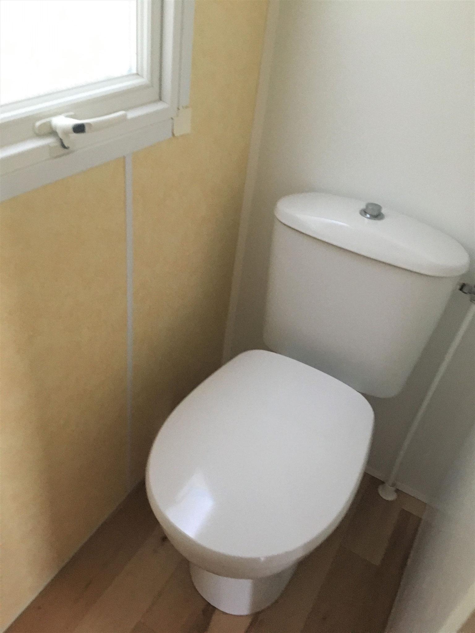 WC indépendant mobil home Bermudes