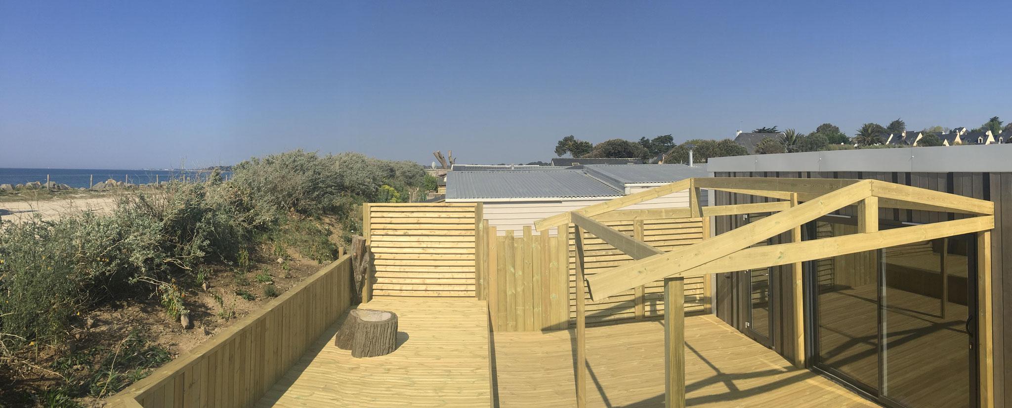 Conception de terrasses double-structure