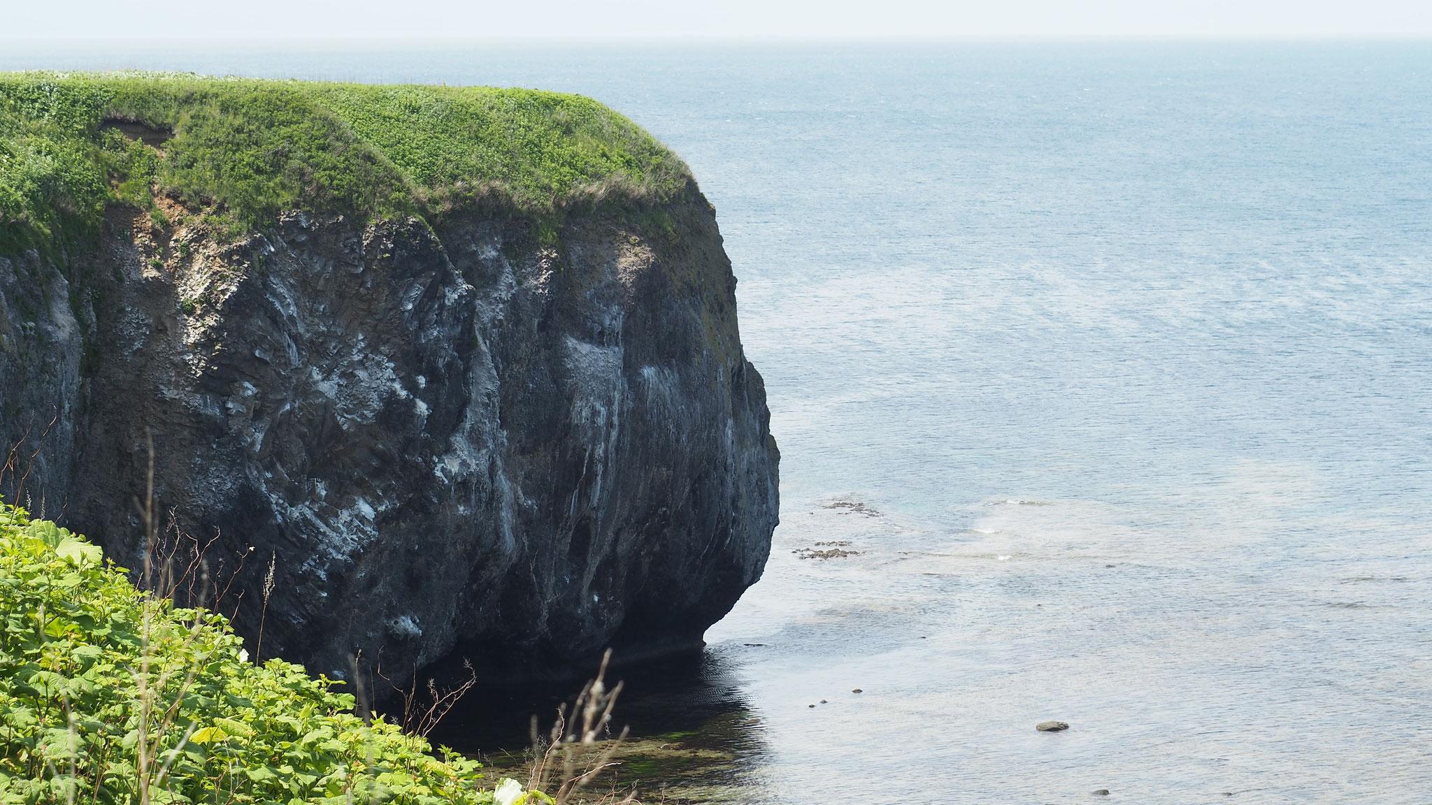 能取岬はロケ地でも有名です。