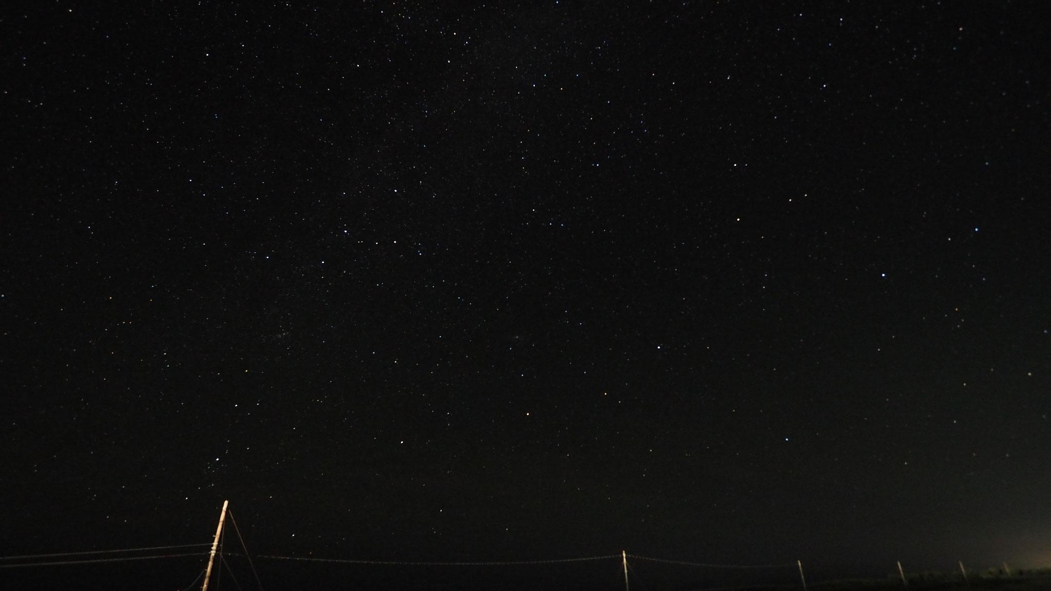 満天の星空も自慢です