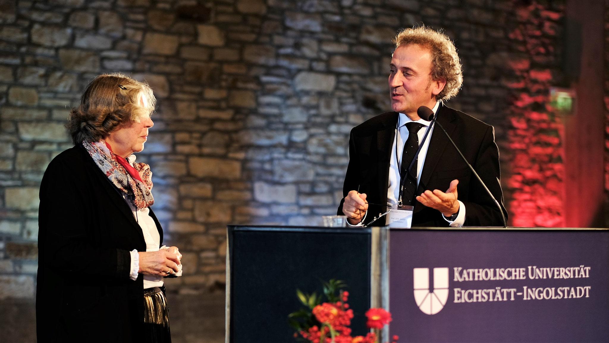 Prof. Dr. Hanna-Barbara Gerl-Falkovitz, Prof. DDr. Janusz Surzykiewicz