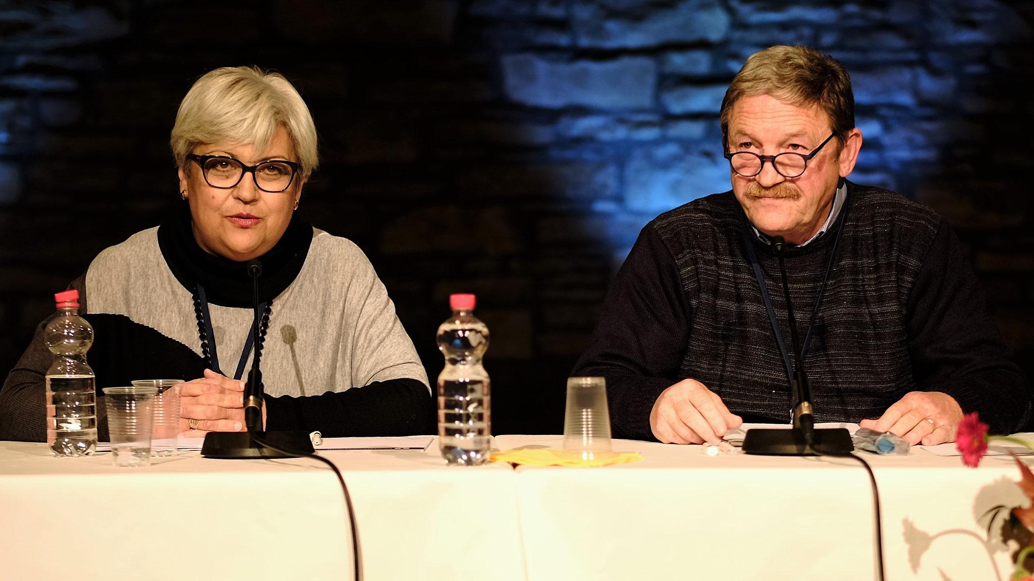 Carla Bonifati und Pio Barletta