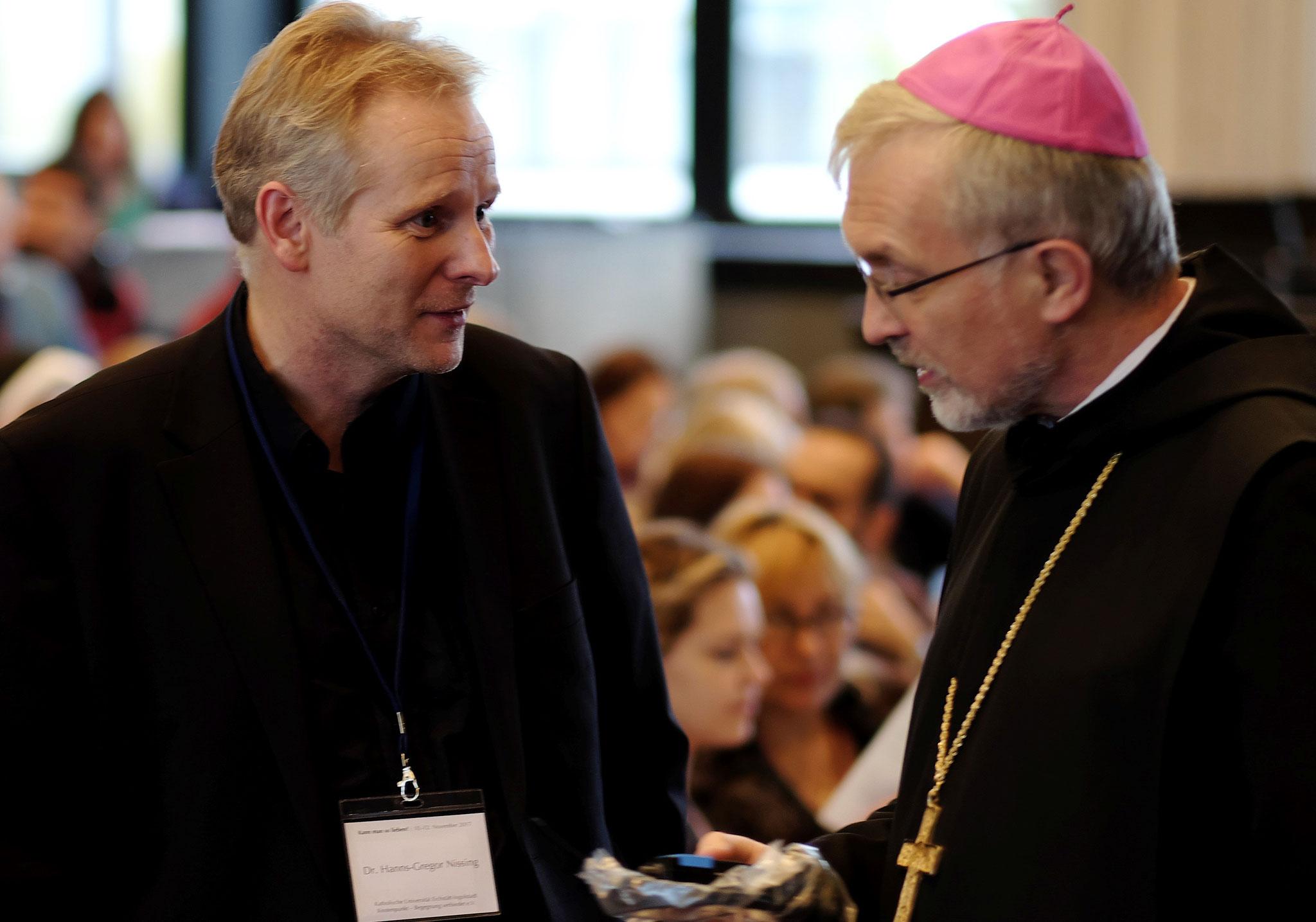 Dr. Hanns-Gregor Nissing, Bischof Gregor Maria Hanke