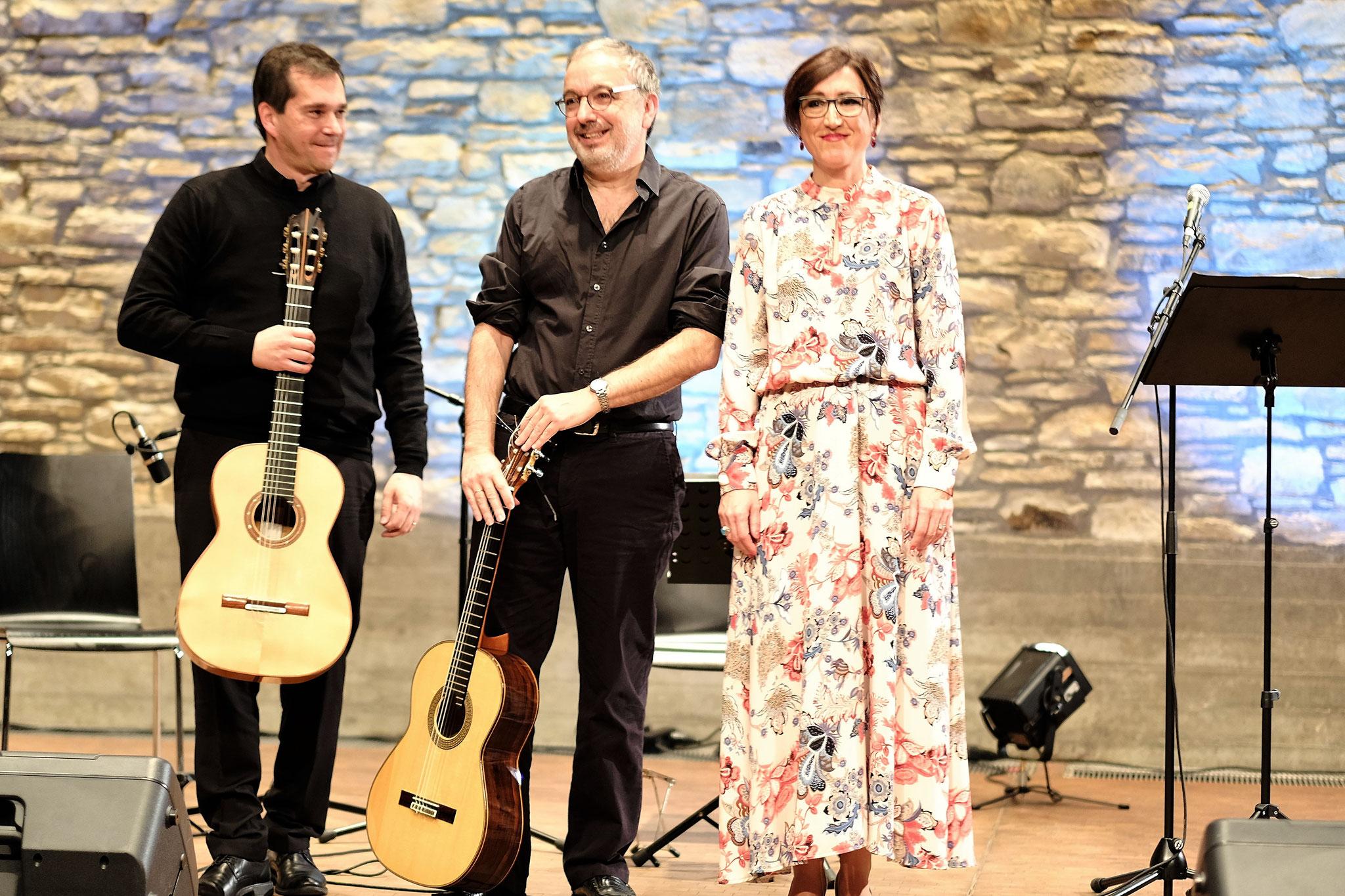 Marco Squicciarini, Rafael Andreo, Manoli Ramirez de Arellano