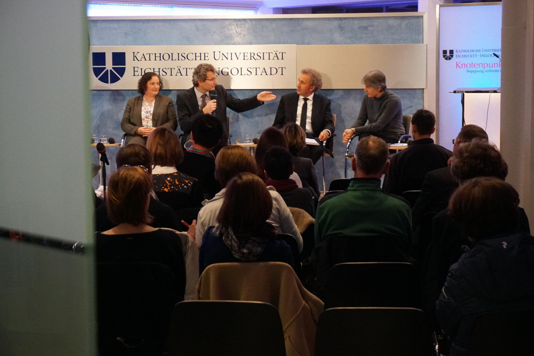 Theologisches Forum mit Dr. Beate Beckmann-Zöller, Prof. Dr. Martin Kirschner, Prof. DDr. Janusz Surzykiewicz, Dr. Dr. Teresa Forcades i Vila