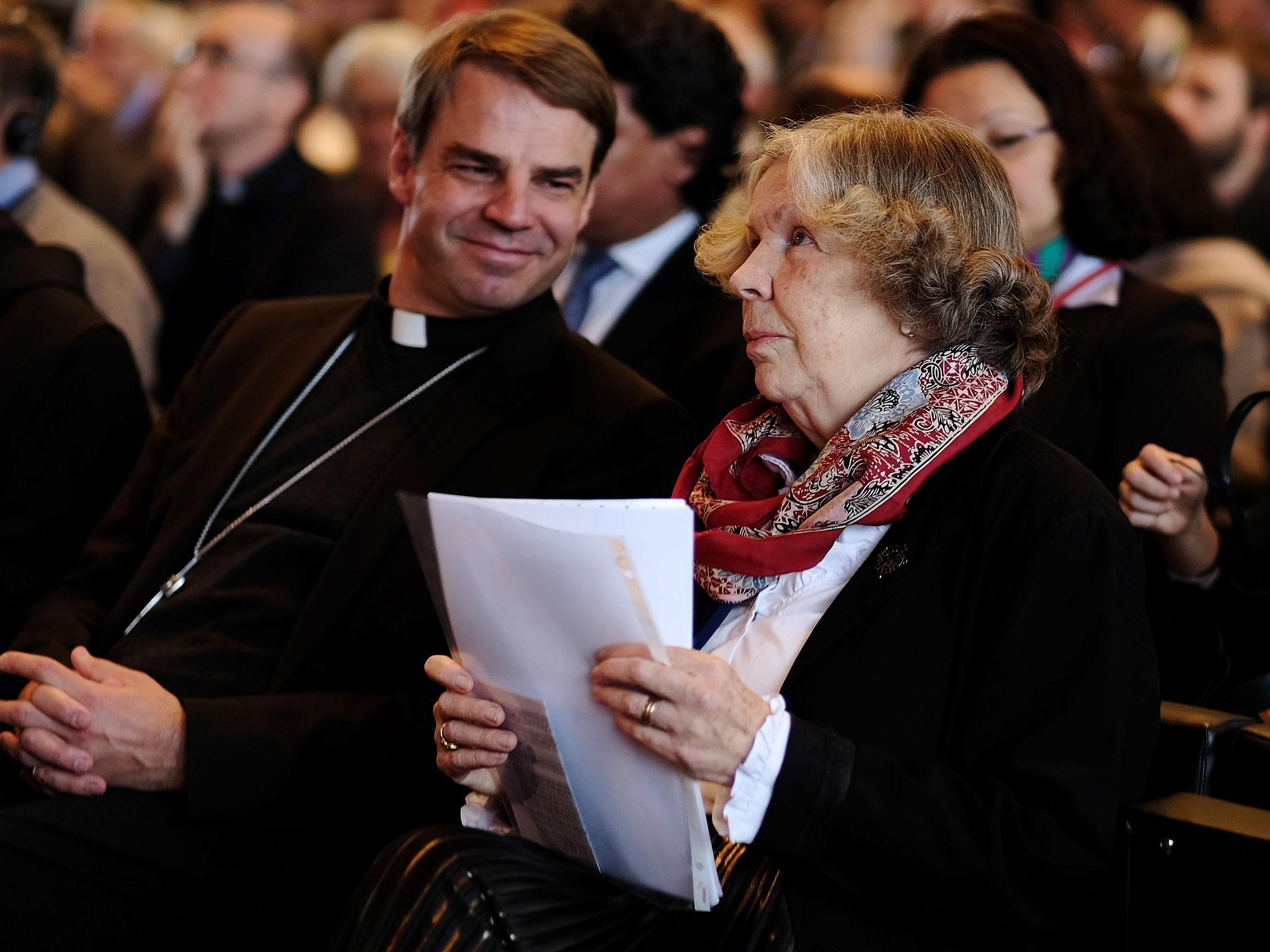 Bischof Stefan Oster, Prof. Dr. Hanna-Barbara Gerl-Falkovitz