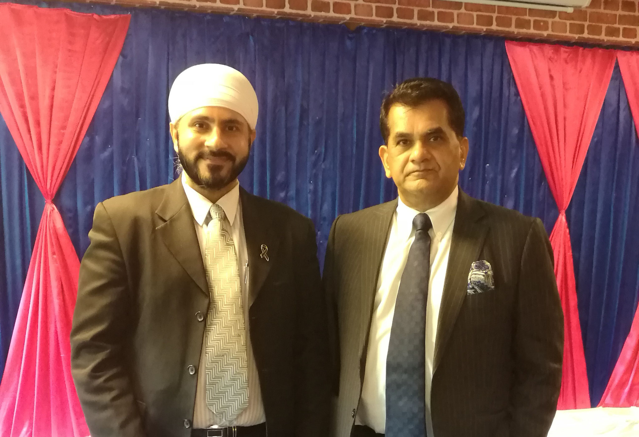 with H.E. Amitabh Kan, national Secretary, Department of Industrial Policy and Promotion (DIPP) India