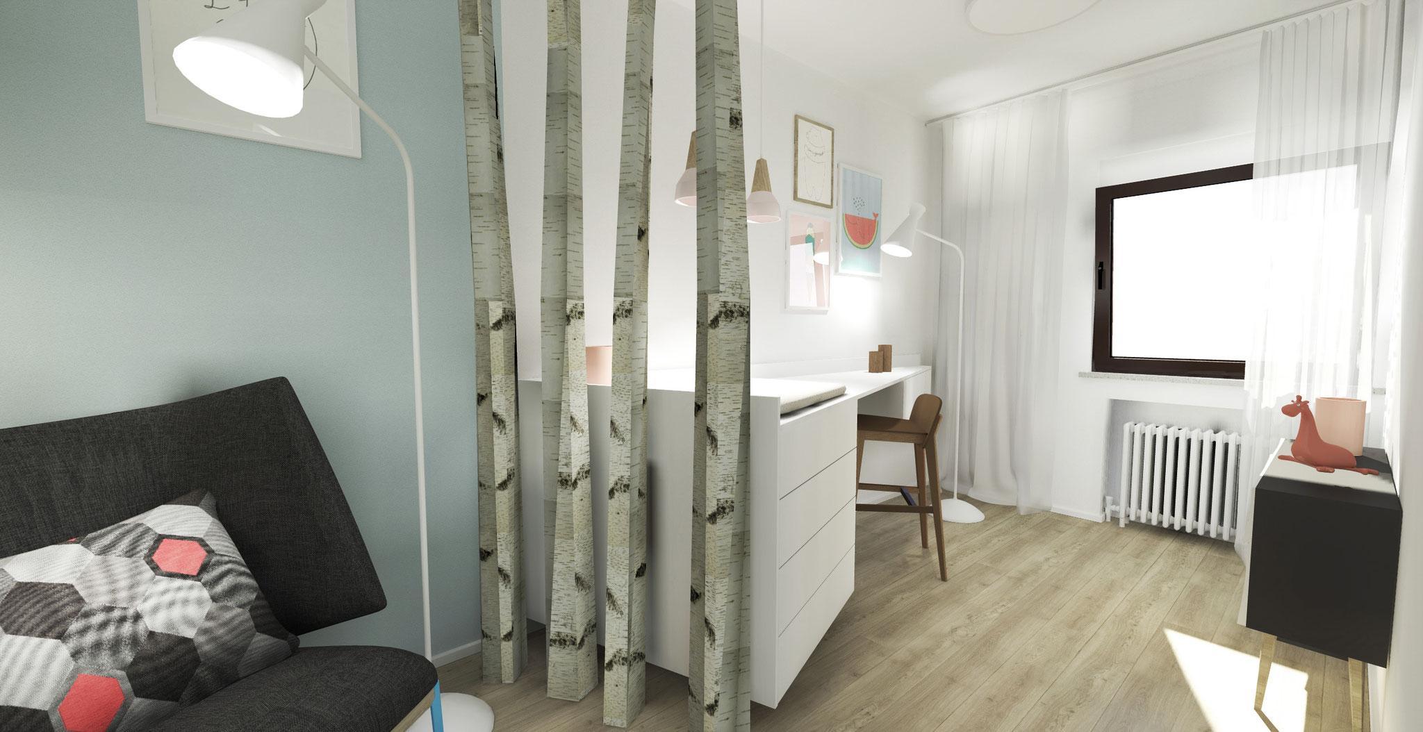 Gestaltung eines Babyzimmers