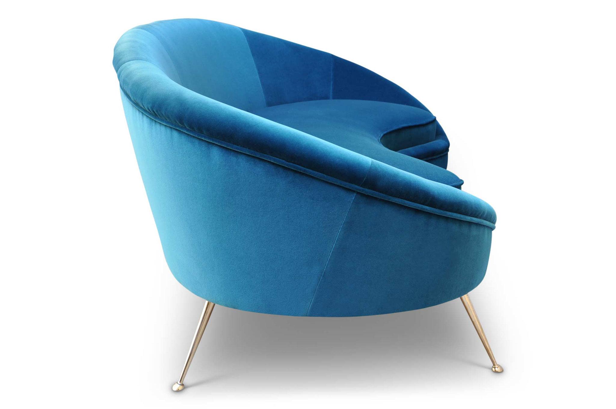 divano curvo ico parisi