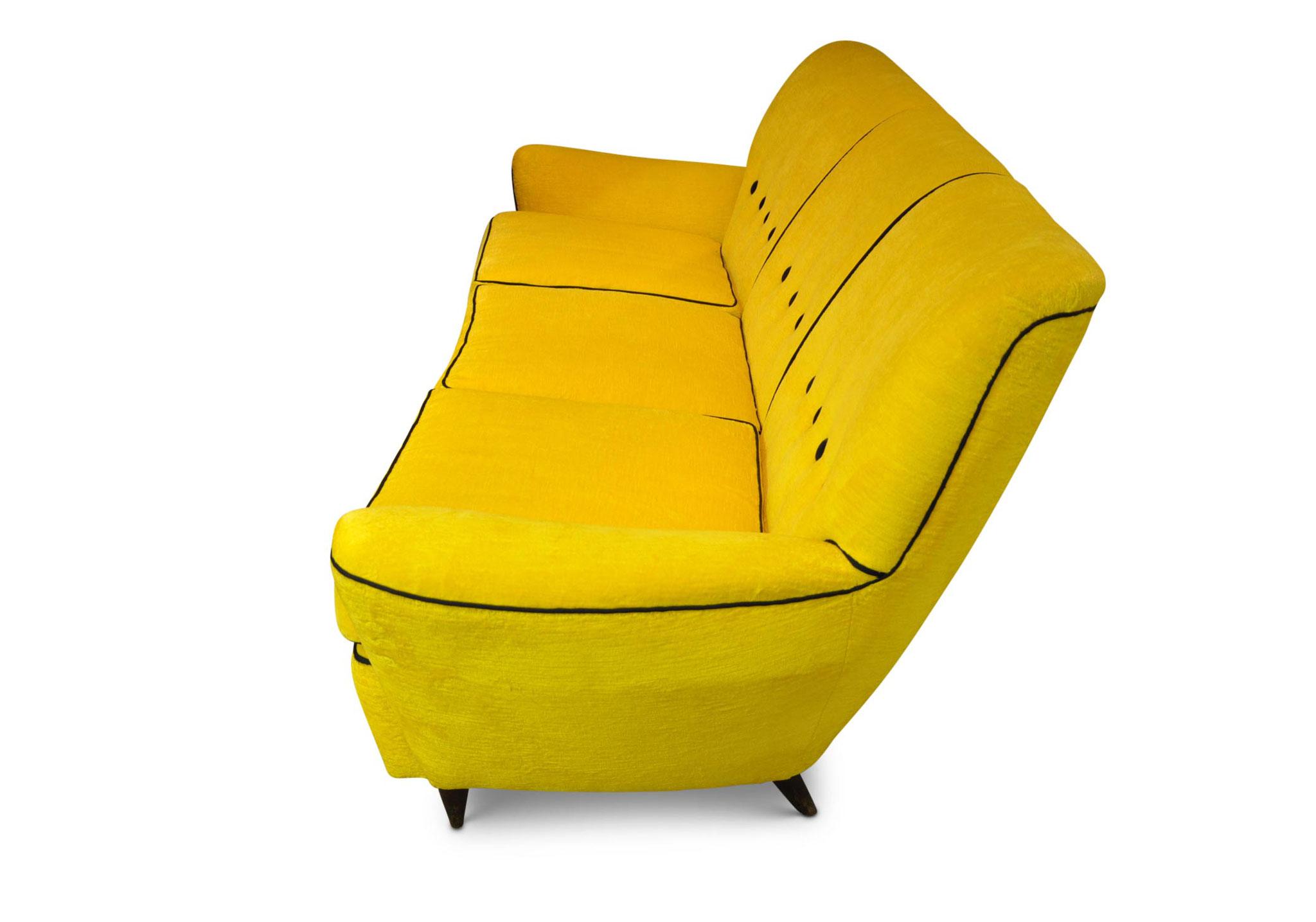 divano vintage modernariato anni 50 paolo buffa