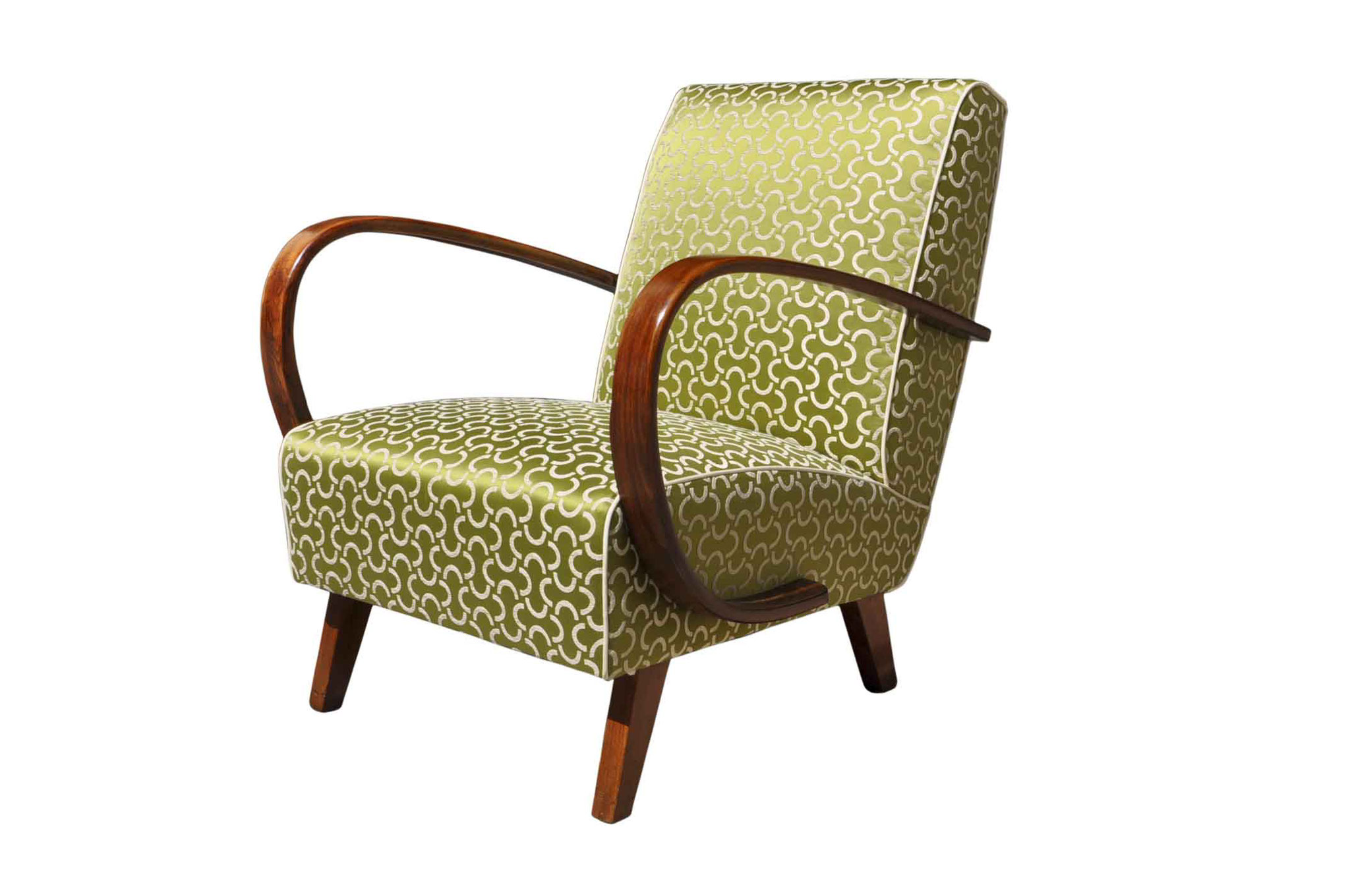 art deco bentwood chair 1930s