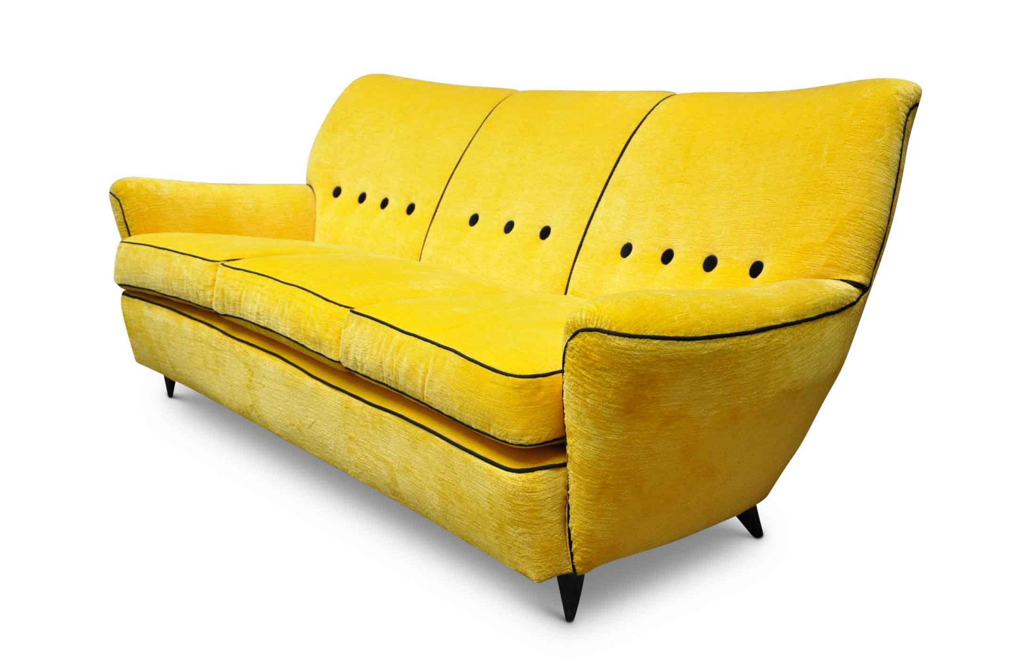 mid century modern italian sofa 1950s