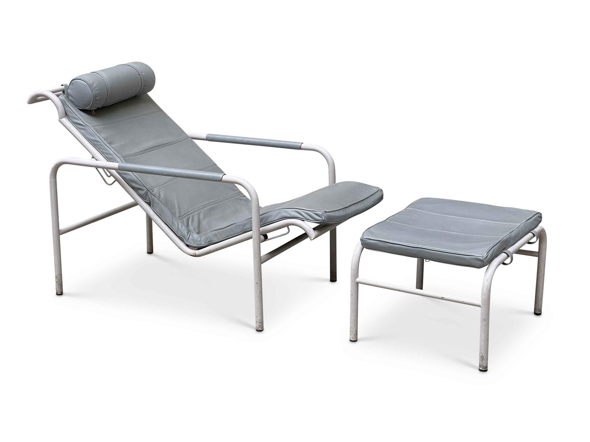 genni chaise longue vintage zanotta
