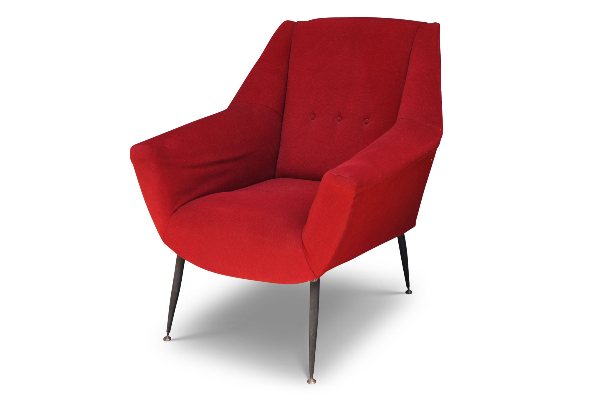 Poltrone Gigi Radice chair mid century modern