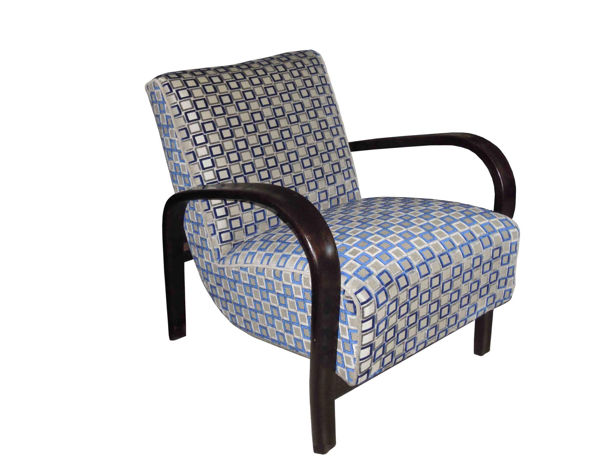 artdeco bentwood chair 1940s