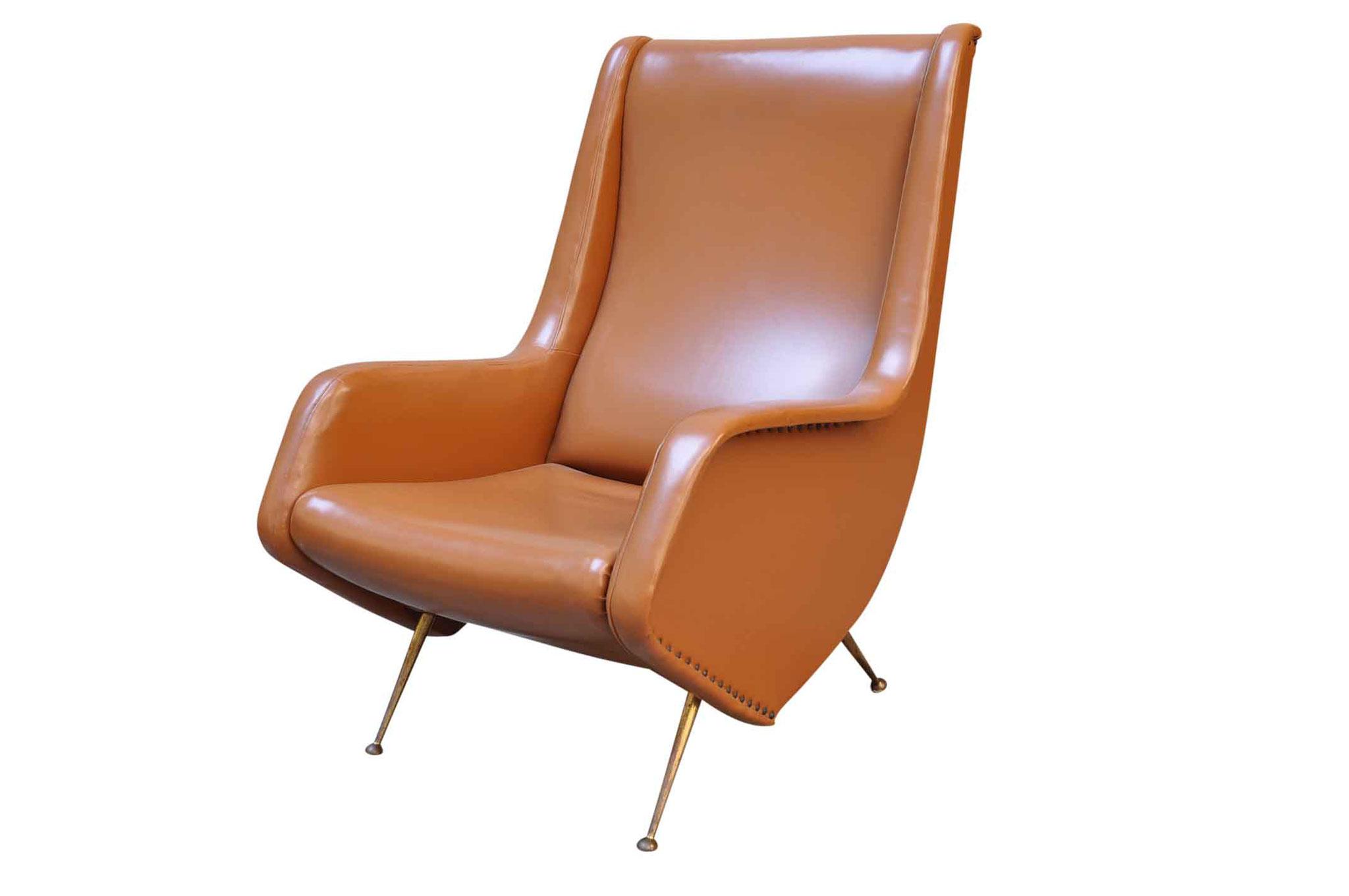 aldo morbelli vintage chair 1950