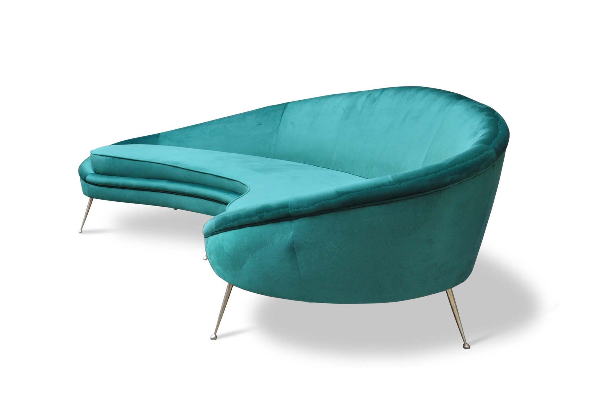 Divano Ico Parisi mid century modern sofa