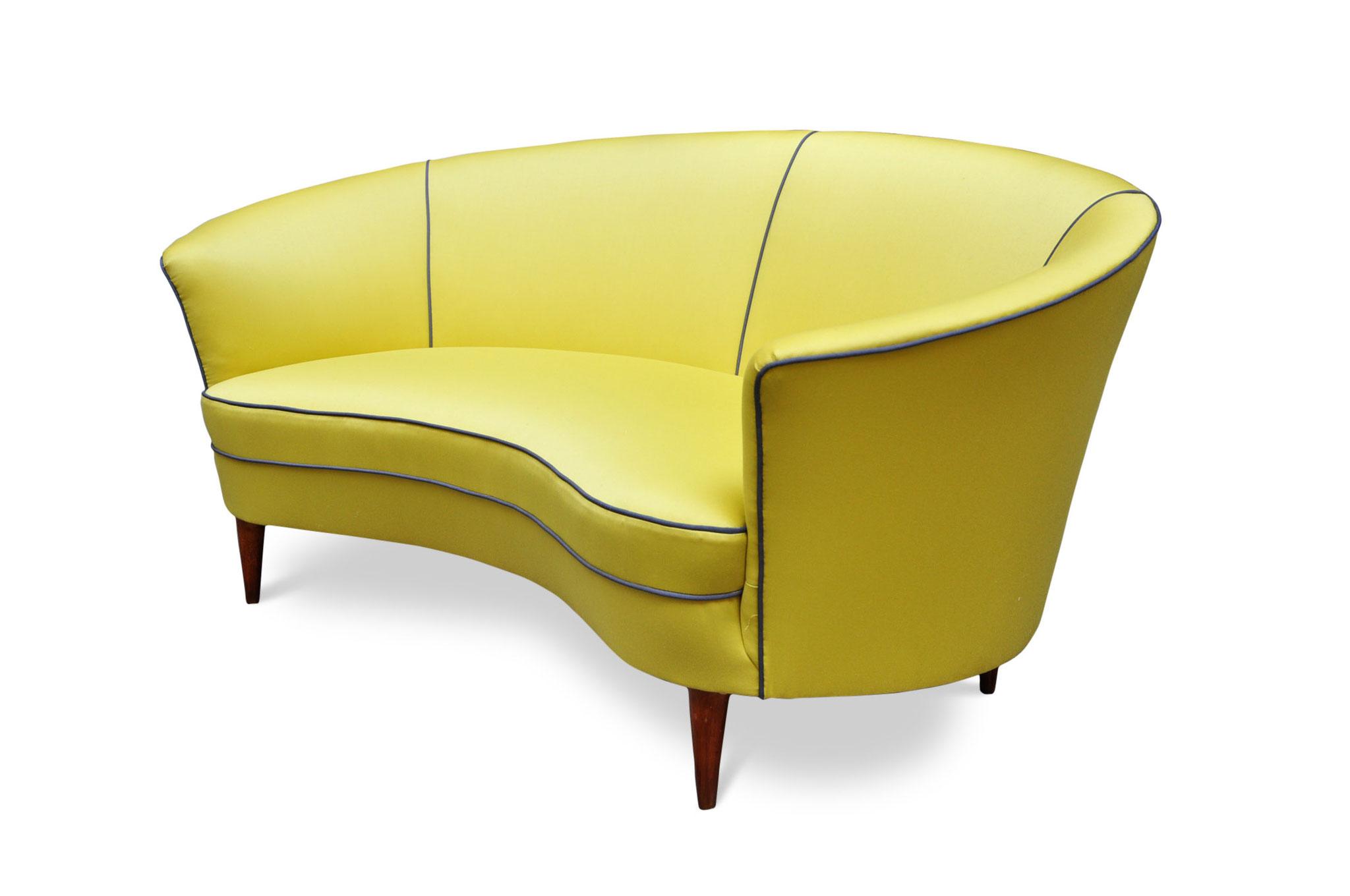 divanetto vintage anni 50 modernariato ico parisi