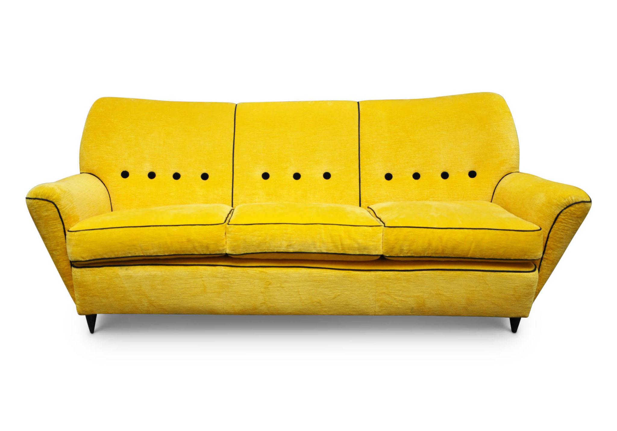 Divano vintage sofa 1959 italian vintage sofa for Divano anni 50