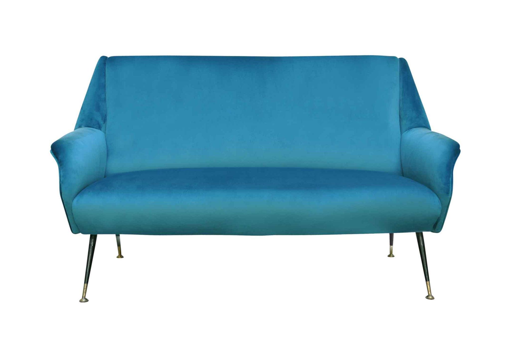 mid century modern sofa 1950s