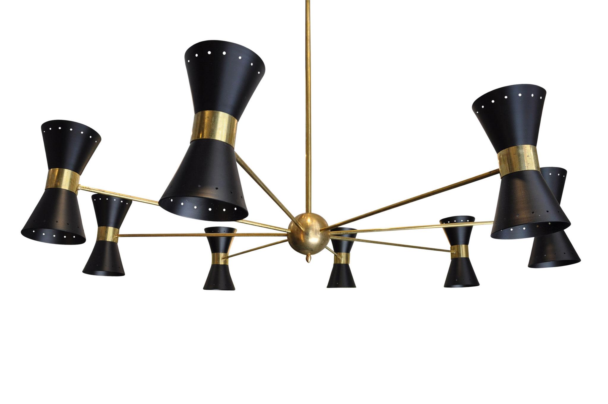 Stilnovo sarfatti chandelier