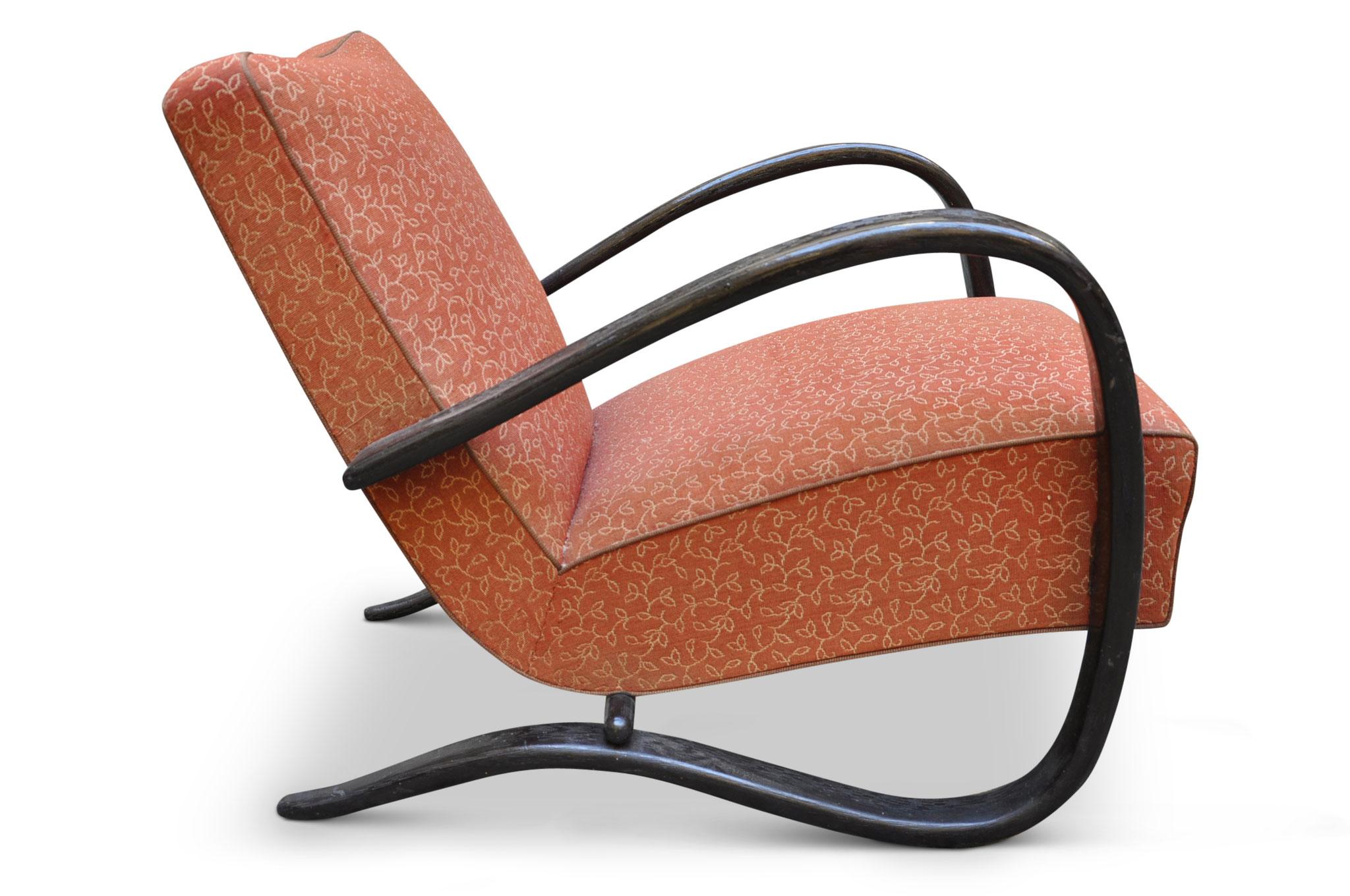halabala h269 armchair