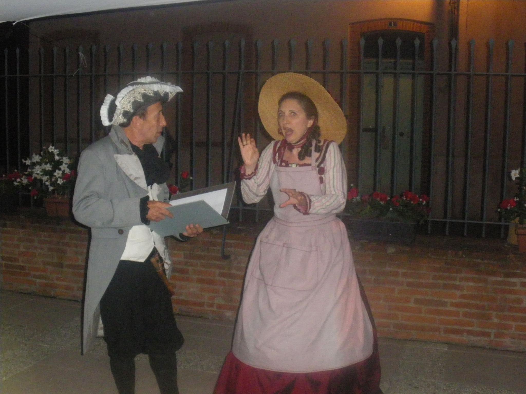 Mme la Baronne et le prévôt