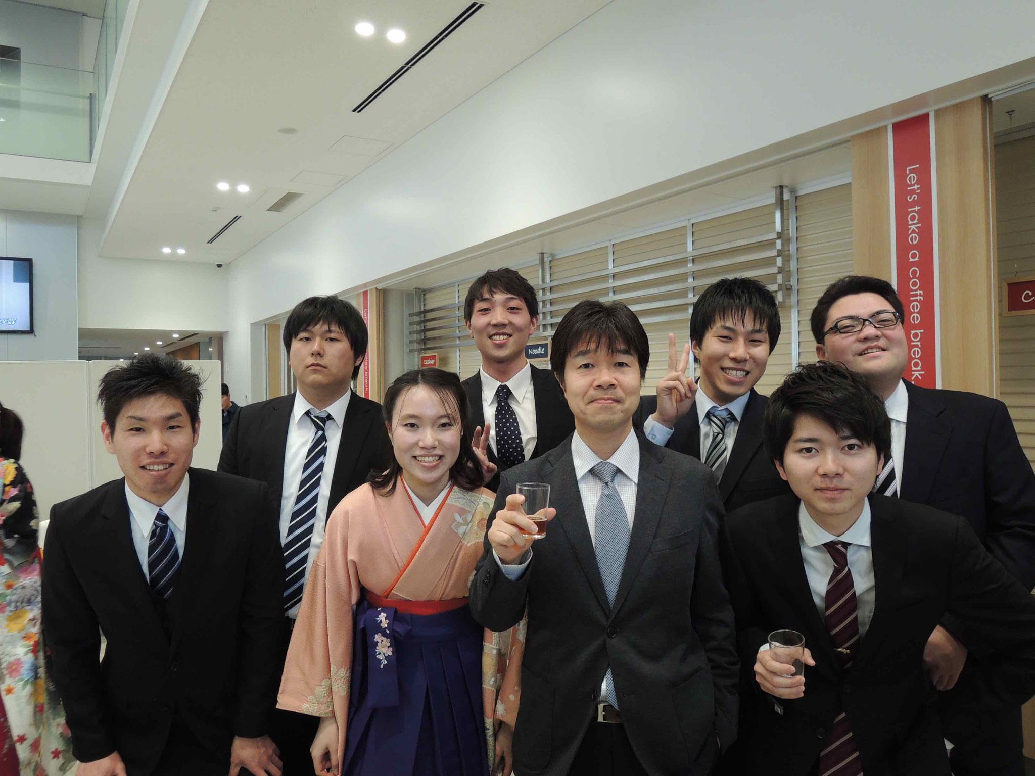 2016年度卒業・修了証書授与式ならびに祝賀会(2017.3.24)