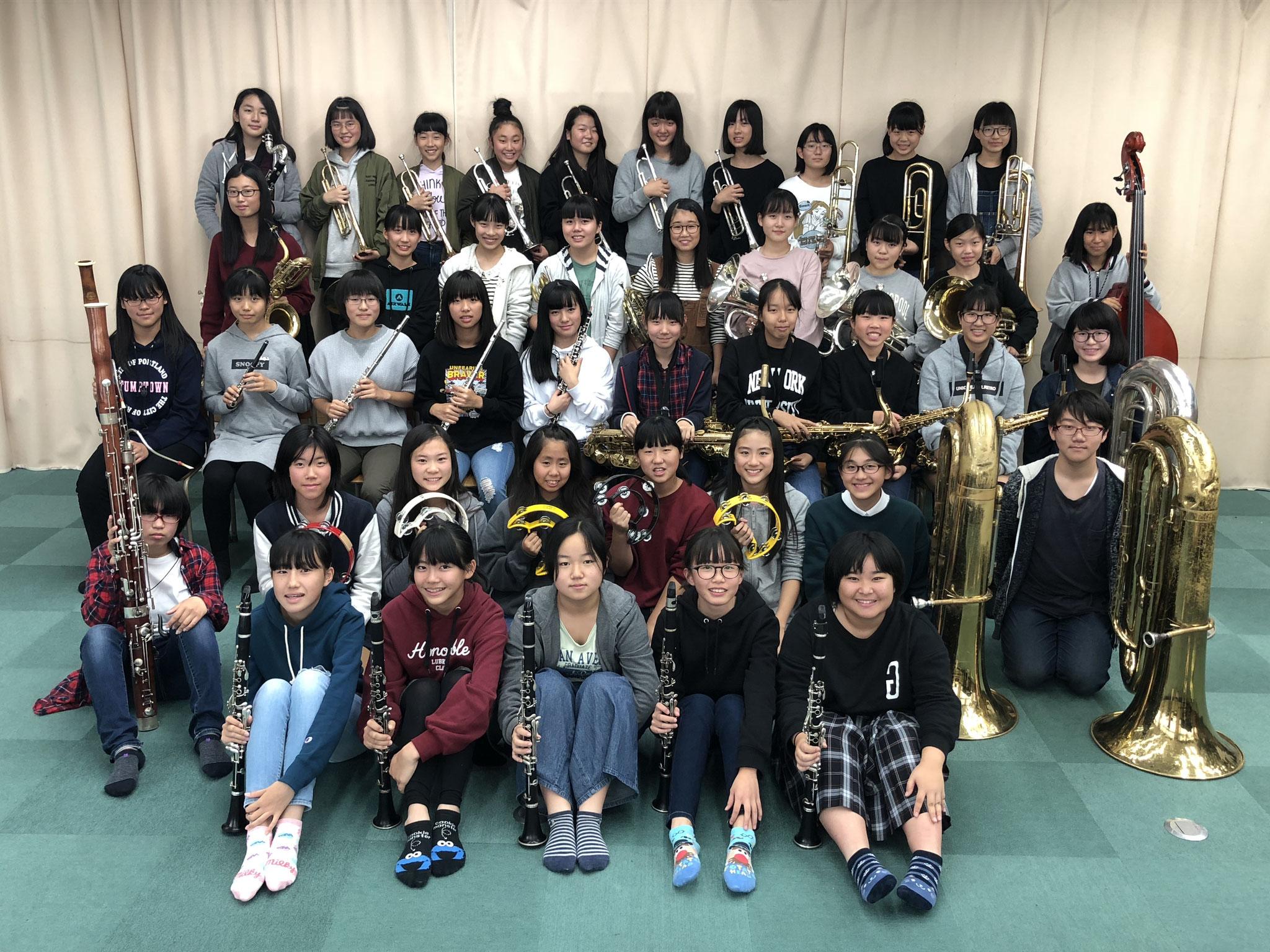 奈良市立三笠中学校吹奏楽部